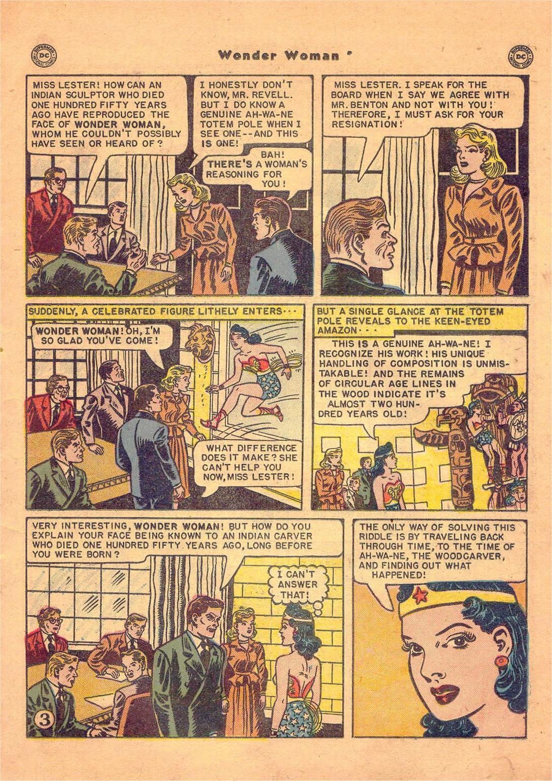 Read online Wonder Woman (1942) comic -  Issue #47 - 20