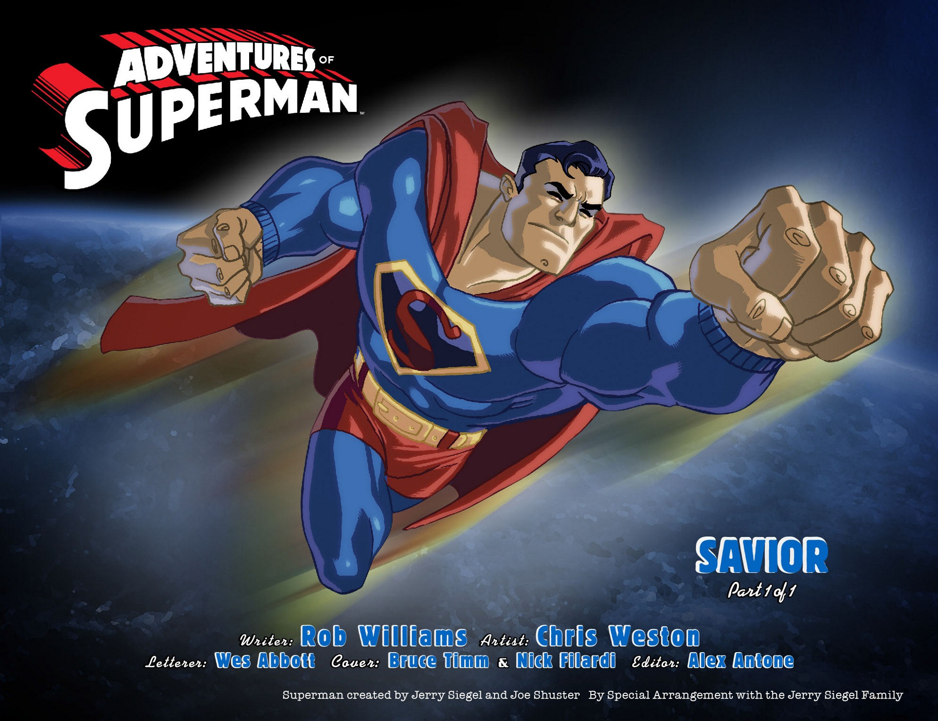 Read online Adventures of Superman [I] comic -  Issue #12 - 2