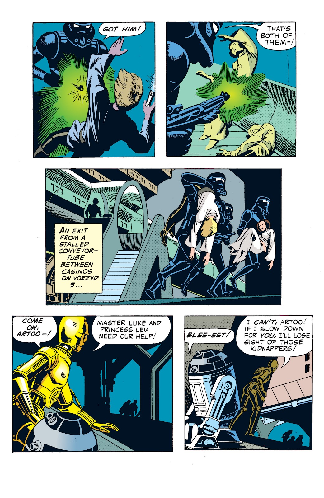 Read online Star Wars Legends: The Newspaper Strips - Epic Collection comic -  Issue # TPB (Part 1) - 51
