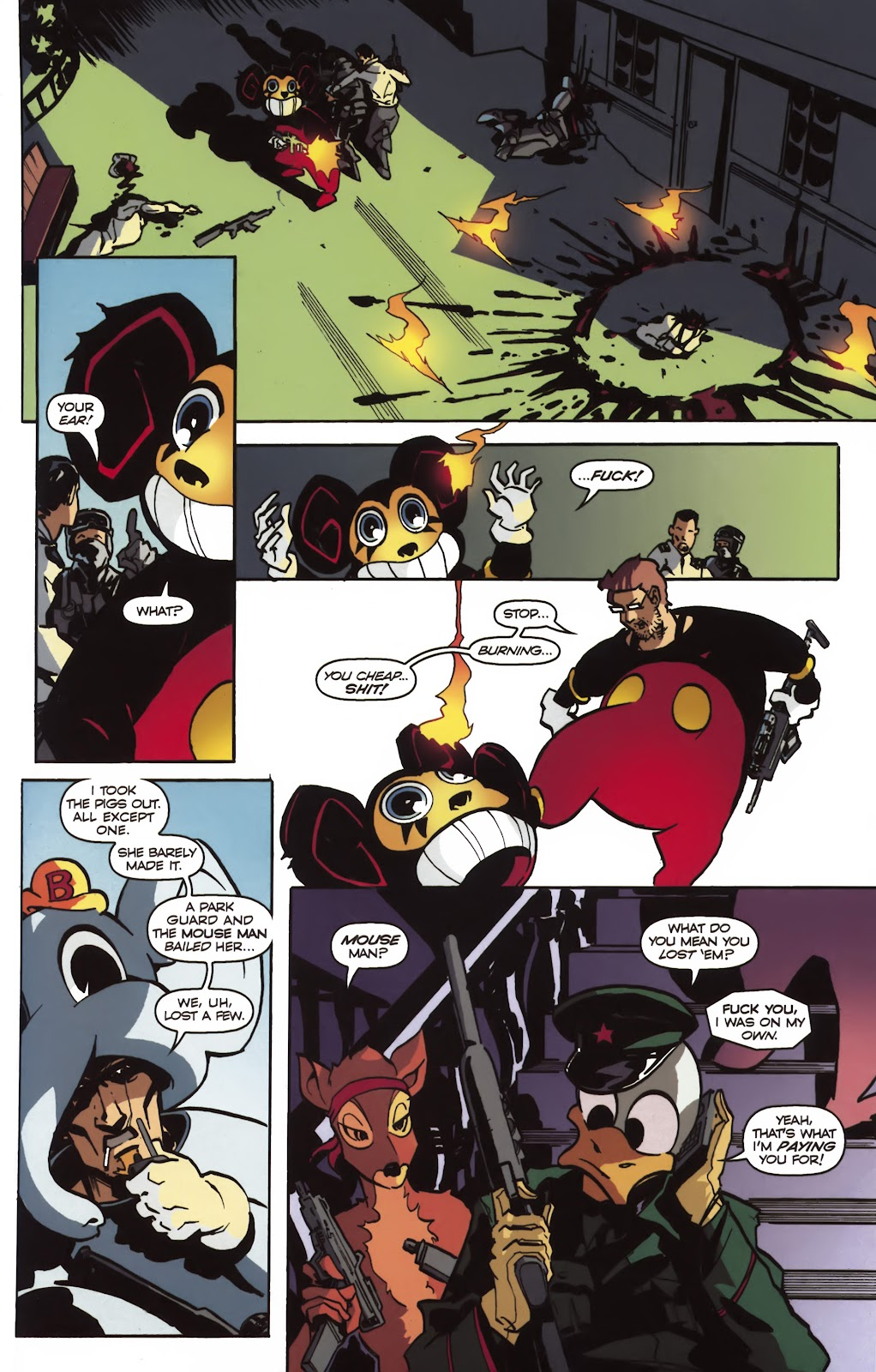 Read online Ricky Rouse Has A Gun comic -  Issue # TPB (Part 2) - 4