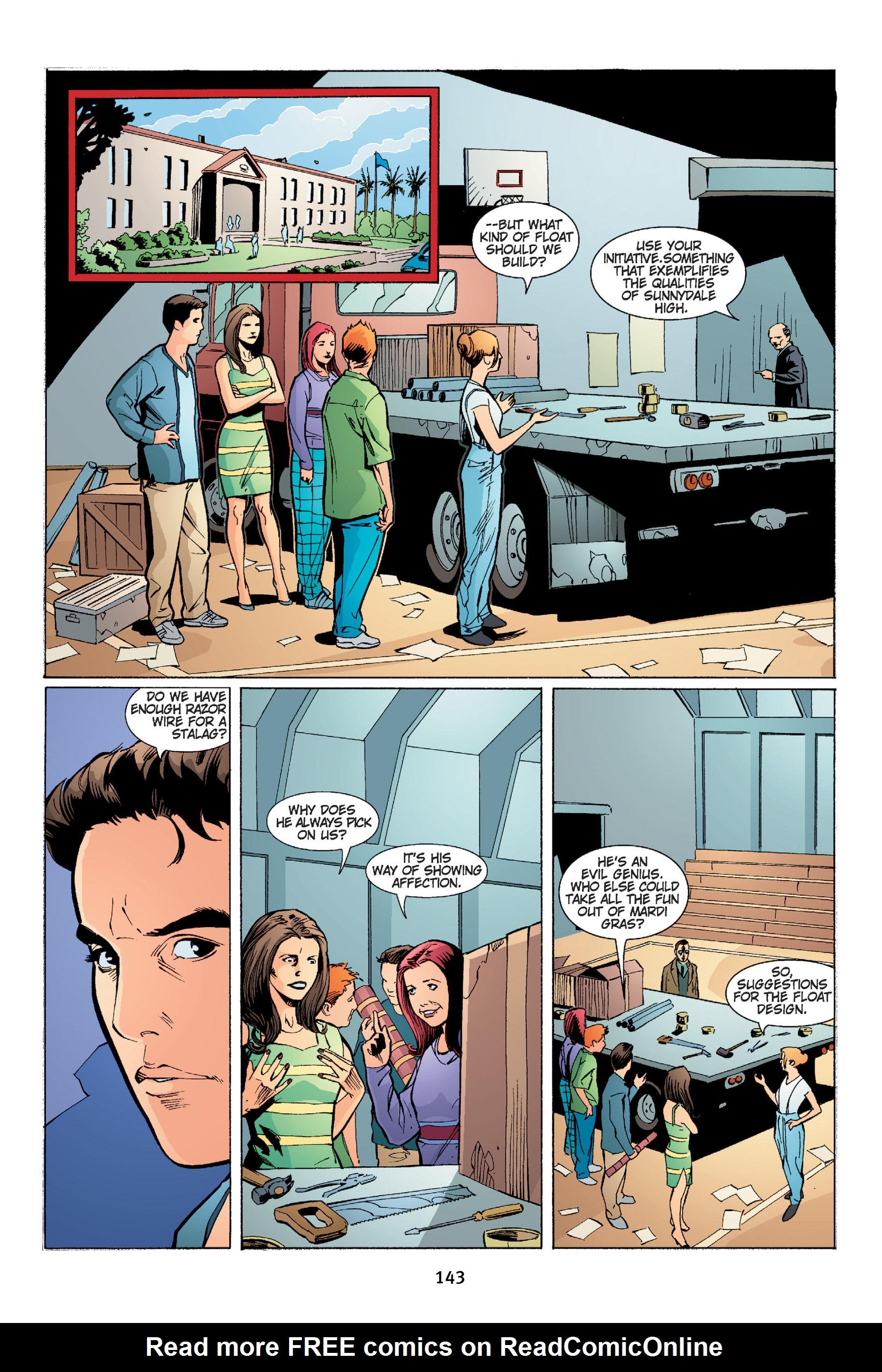 Read online Buffy the Vampire Slayer: Omnibus comic -  Issue # TPB 4 - 144