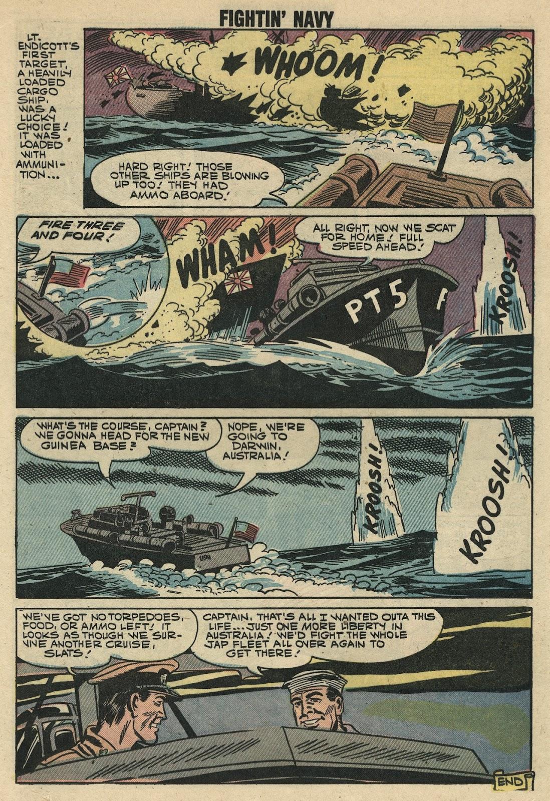 Read online Fightin' Navy comic -  Issue #86 - 19
