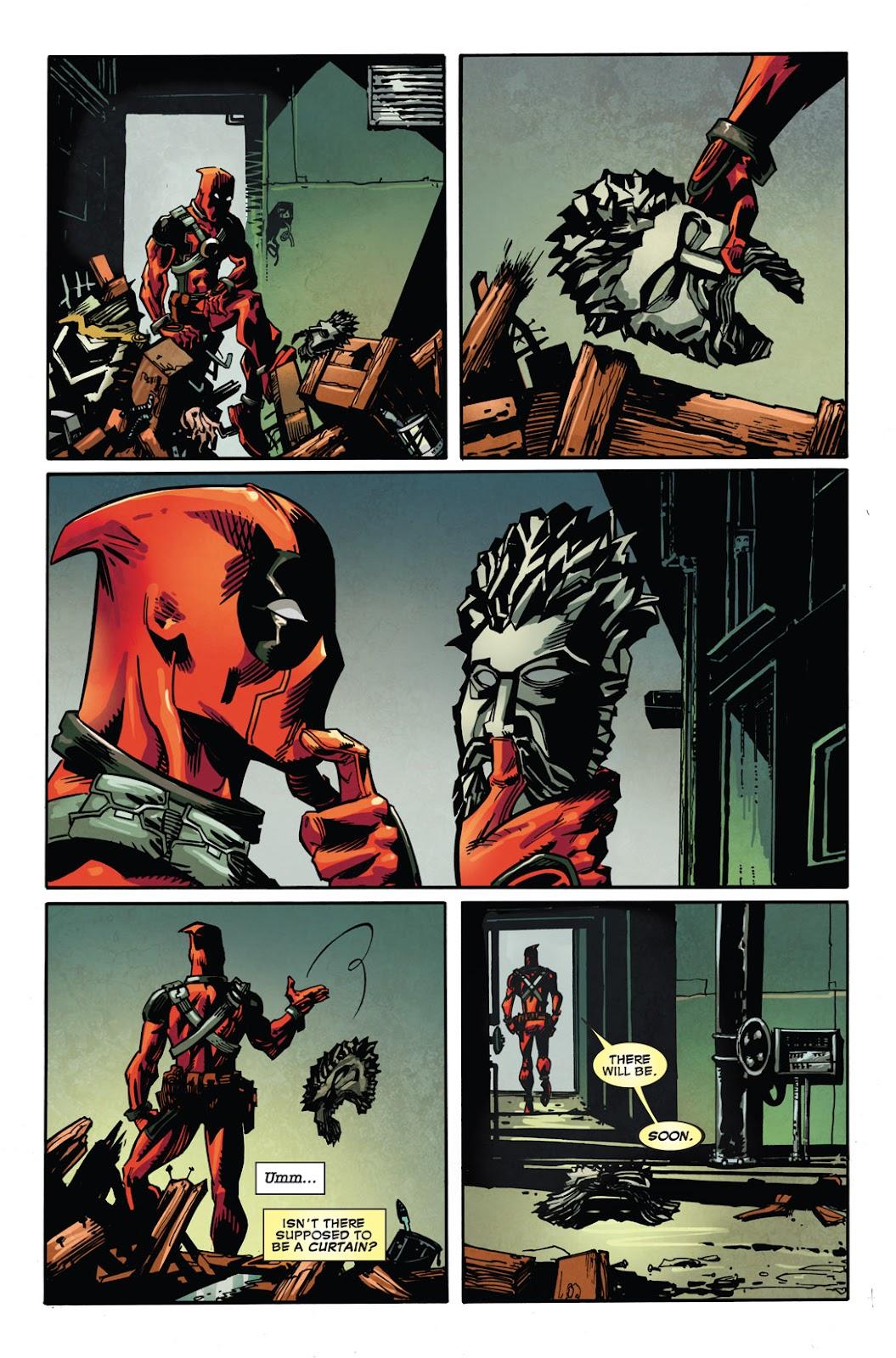 Read online Deadpool (2008) comic -  Issue #49.1 - 22