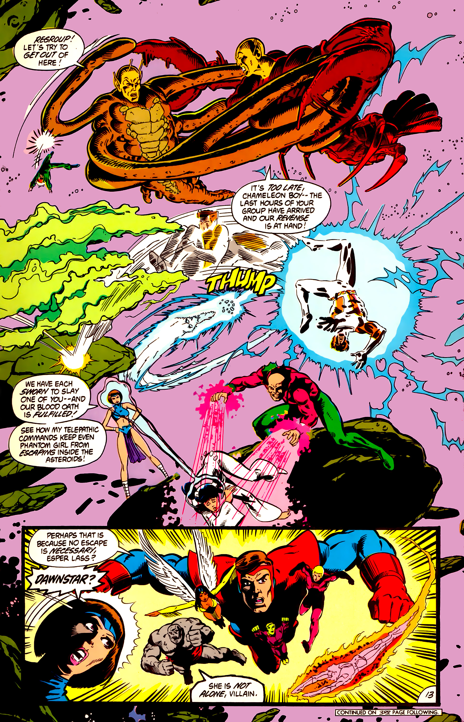 Legion of Super-Heroes (1984) 3 Page 14