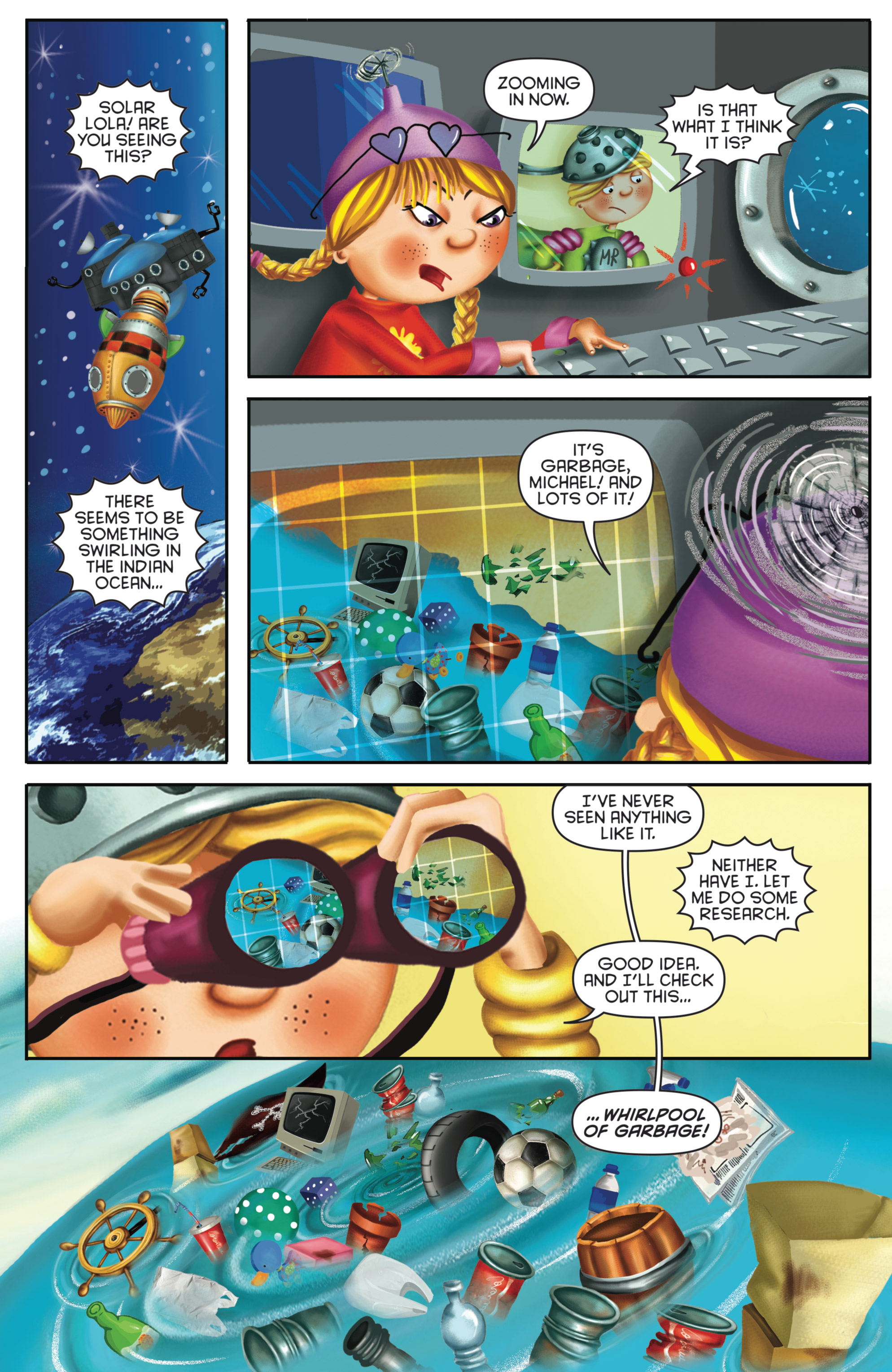 Read online Michael Recycle comic -  Issue #4 - 6