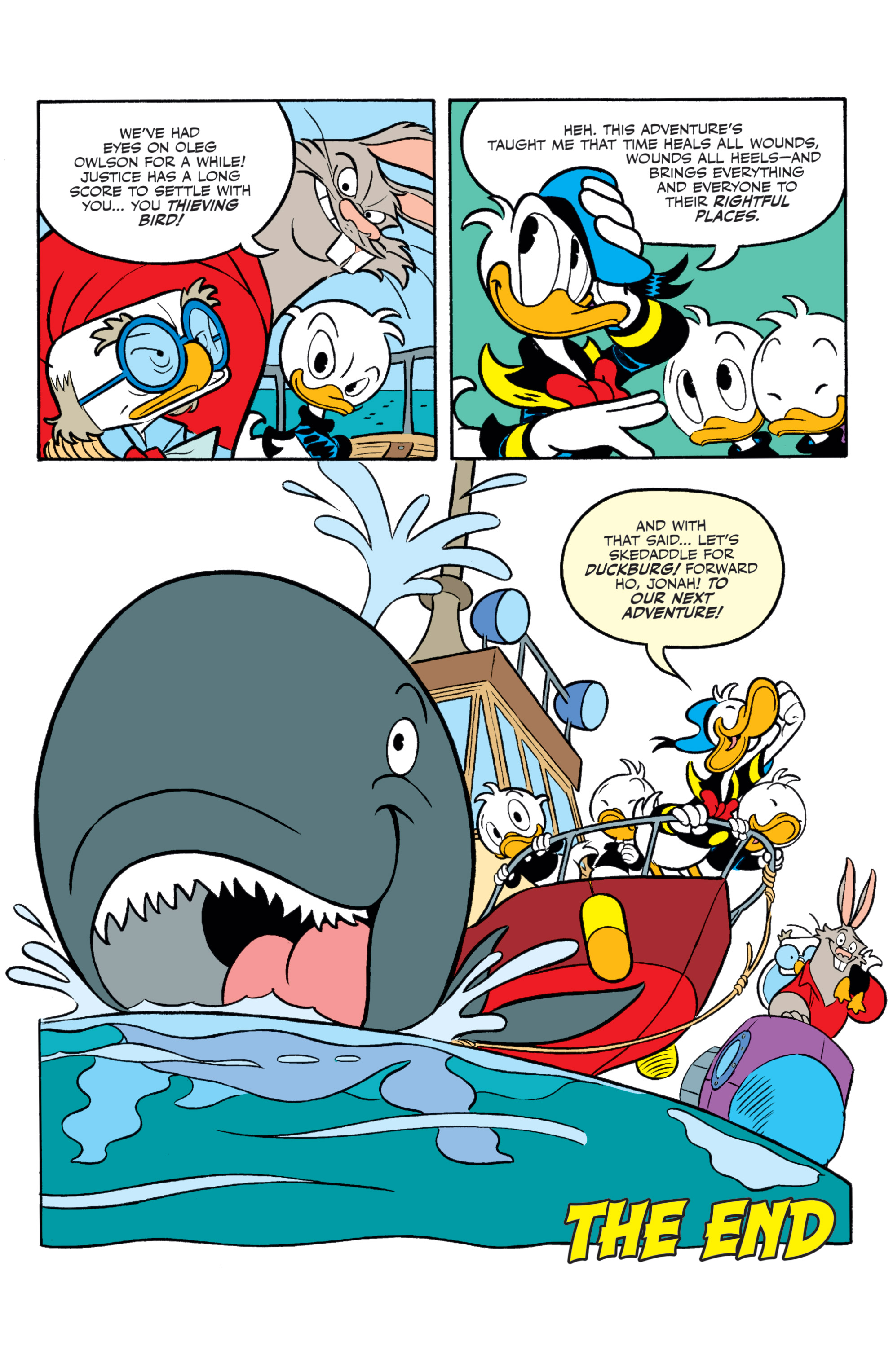 Read online Donald Duck (2015) comic -  Issue #21 - 22