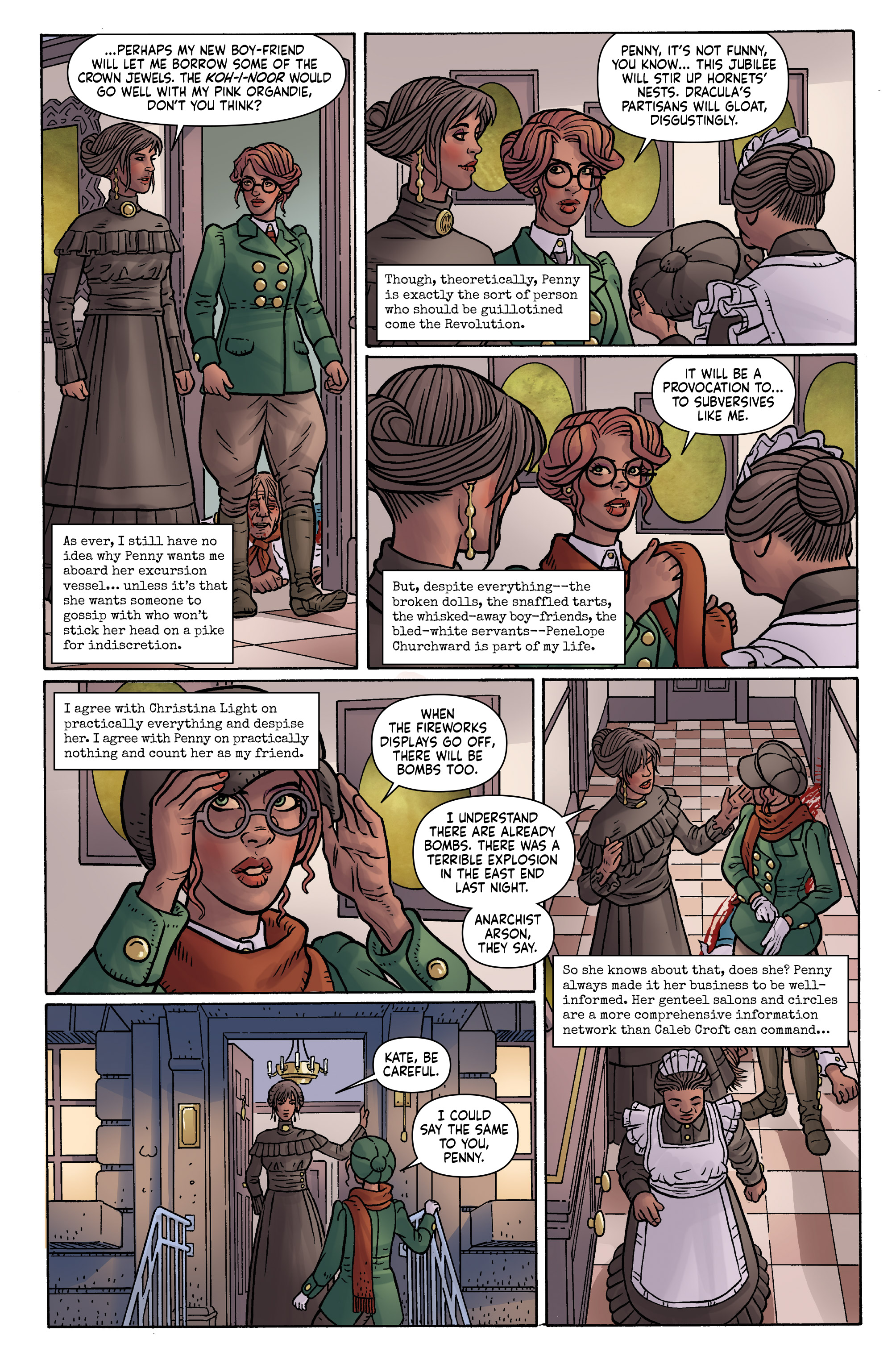 Read online Anno Dracula comic -  Issue #3 - 21