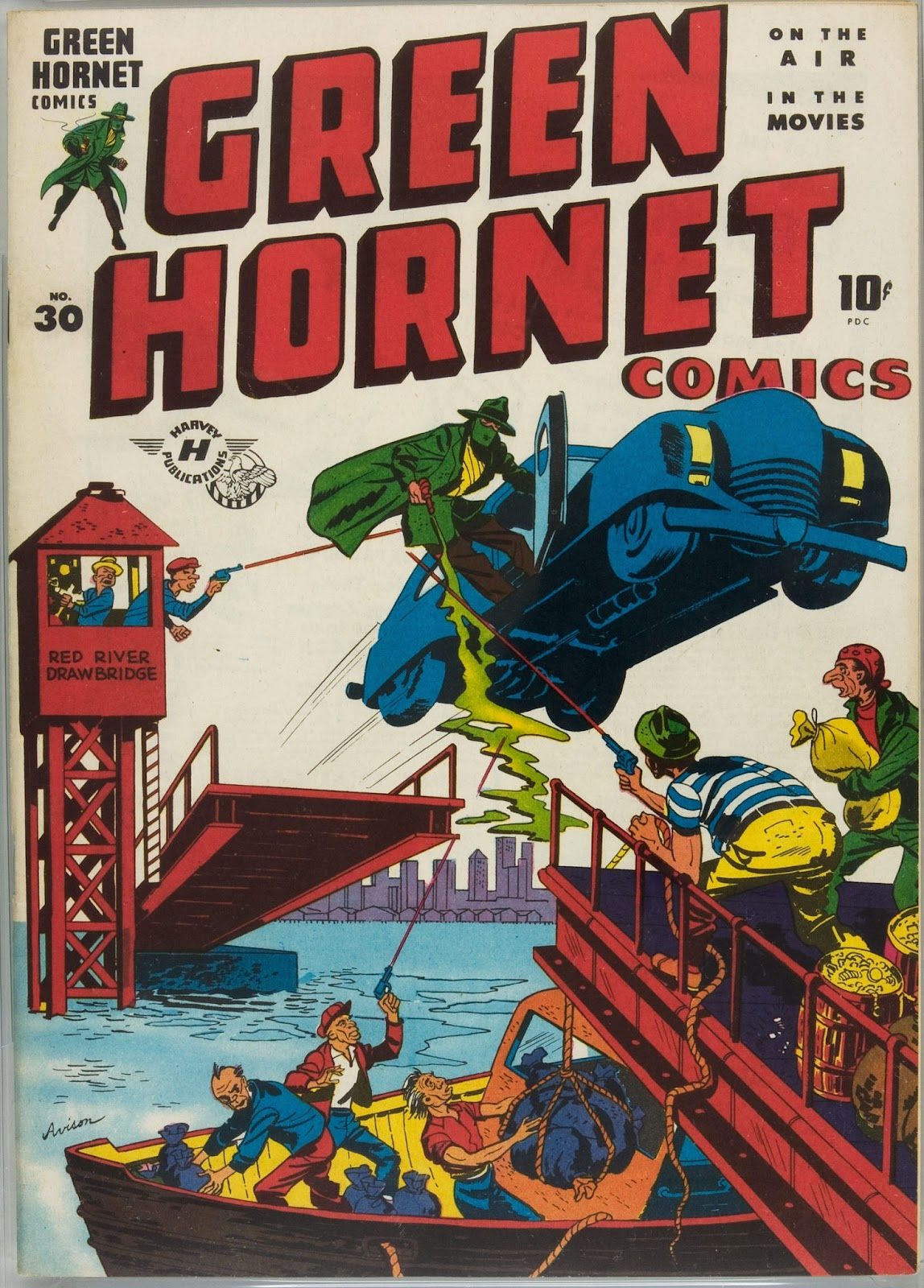 Green Hornet Comics issue 30 - Page 1