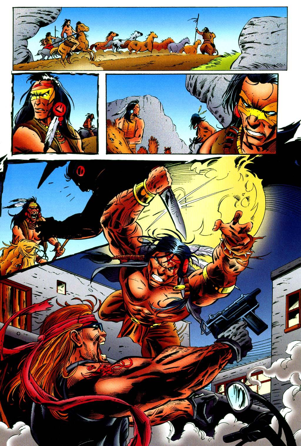 Read online Turok, Dinosaur Hunter (1993) comic -  Issue #44 - 14