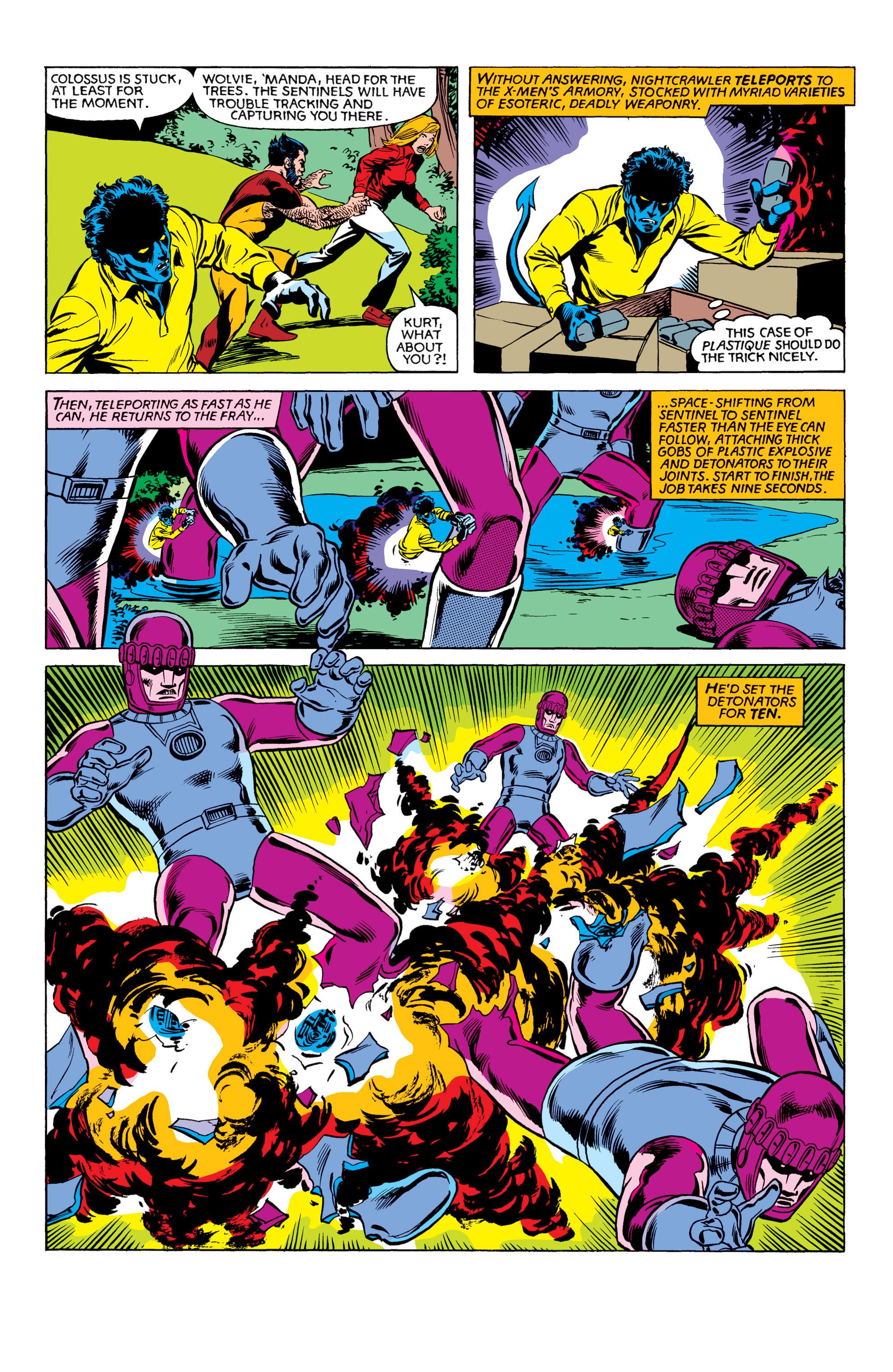 Read online Uncanny X-Men (1963) comic -  Issue #151 - 19
