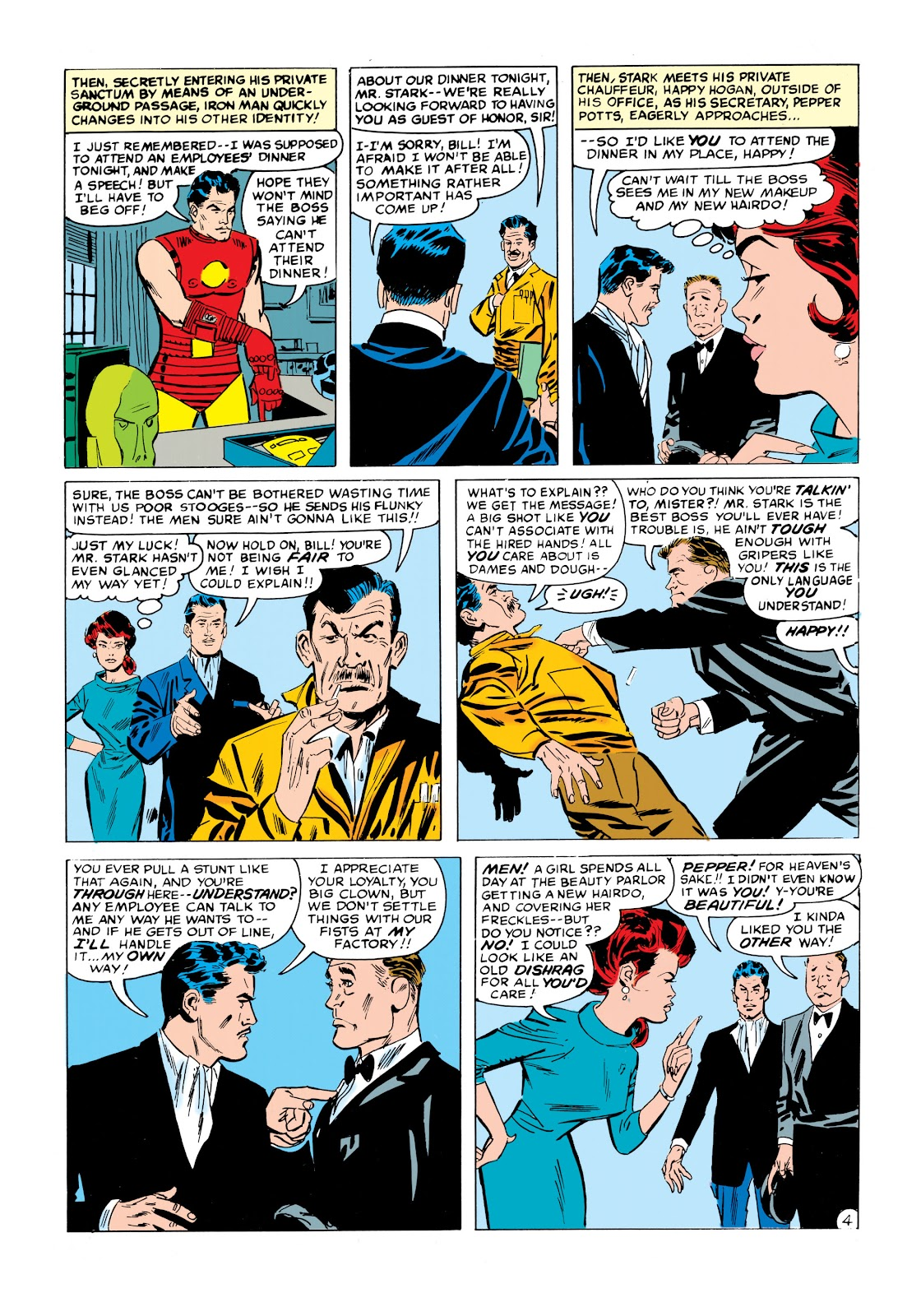 Read online Marvel Masterworks: The Invincible Iron Man comic -  Issue # TPB 1 (Part 2) - 81
