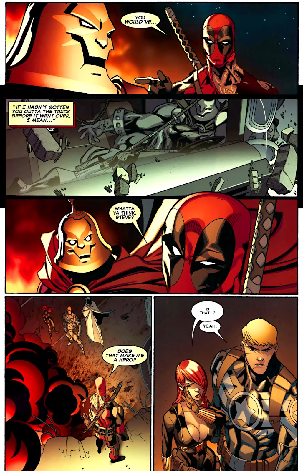 Read online Deadpool (2008) comic -  Issue #29 - 21