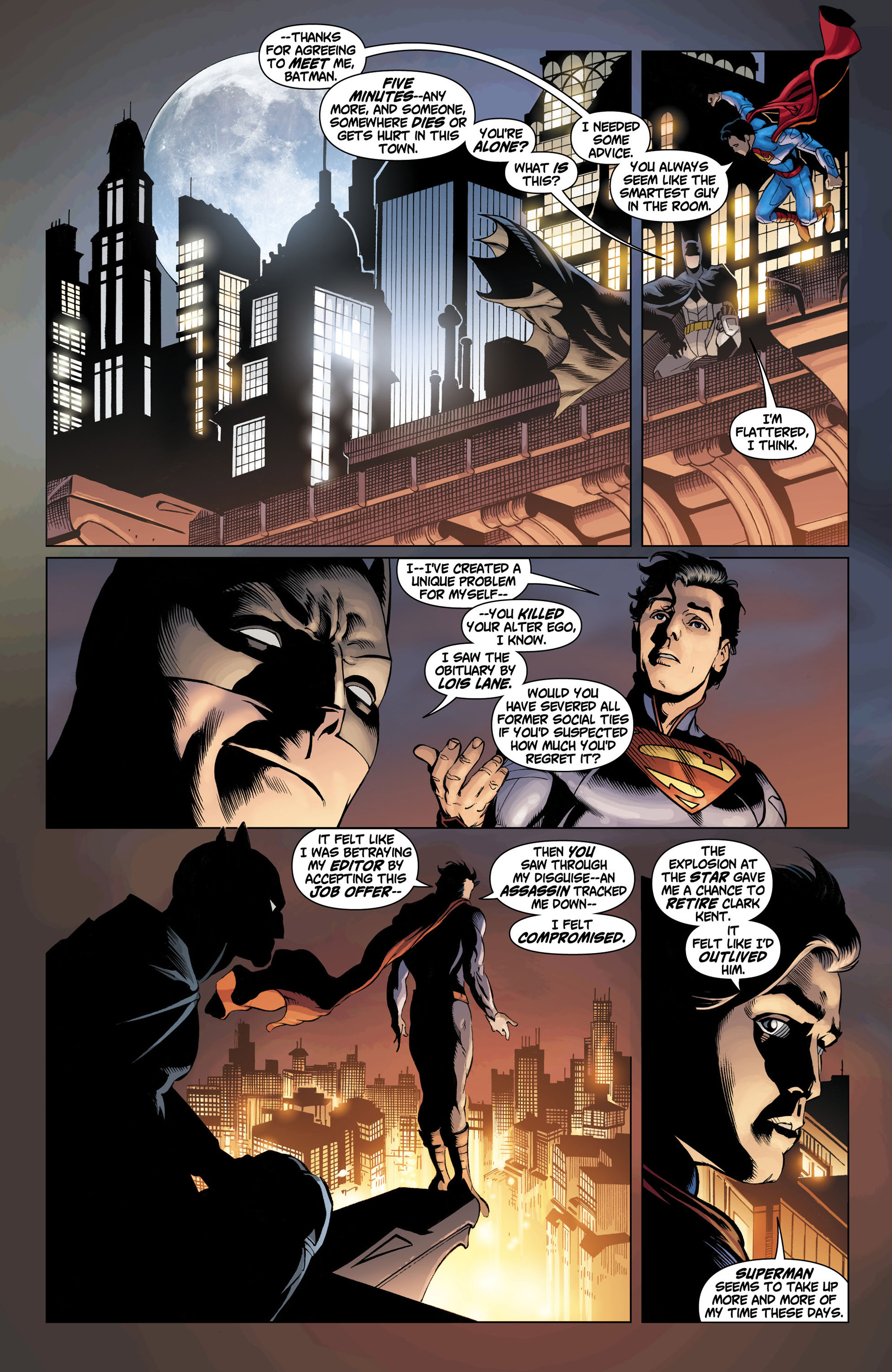 Read online Action Comics (2011) comic -  Issue #11 - 10