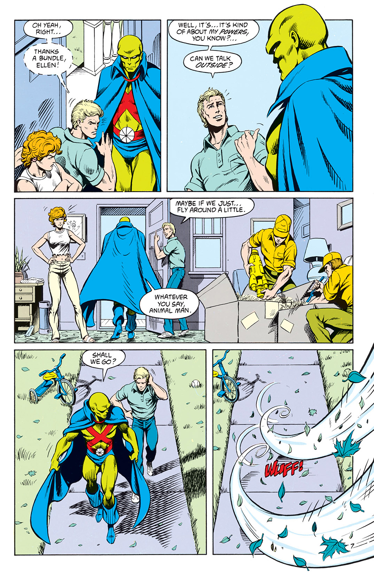 Read online Animal Man (1988) comic -  Issue #9 - 9