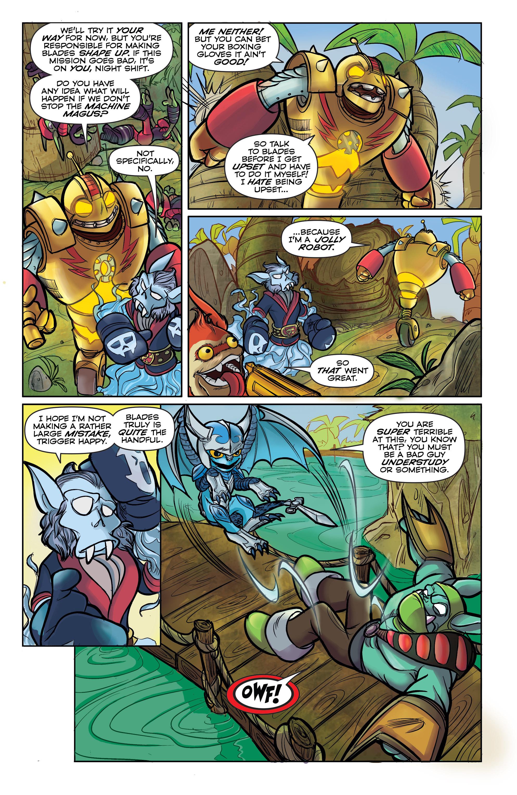 Read online Skylanders comic -  Issue #5 - 5
