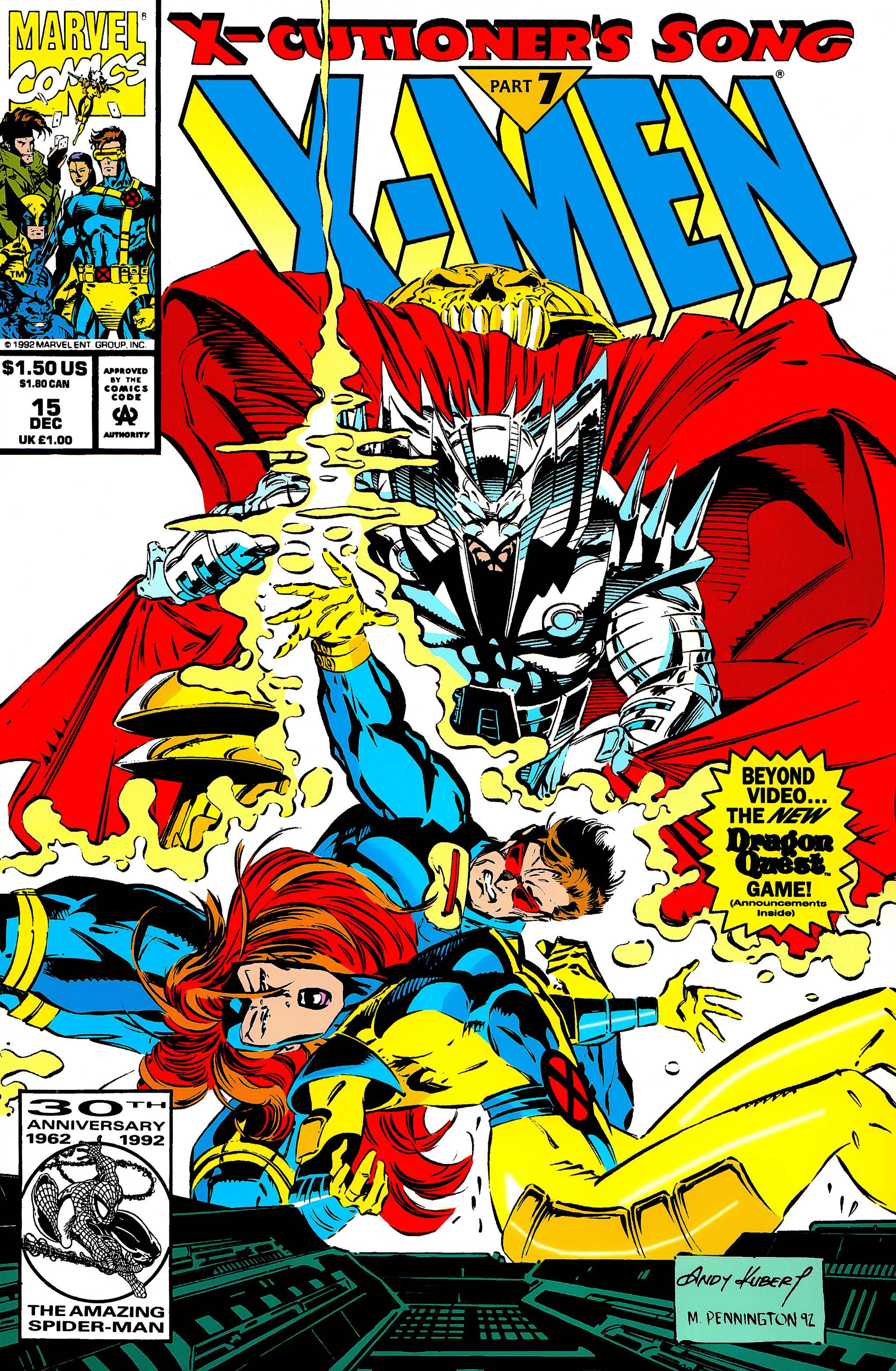 X-Men (1991) 15 Page 0