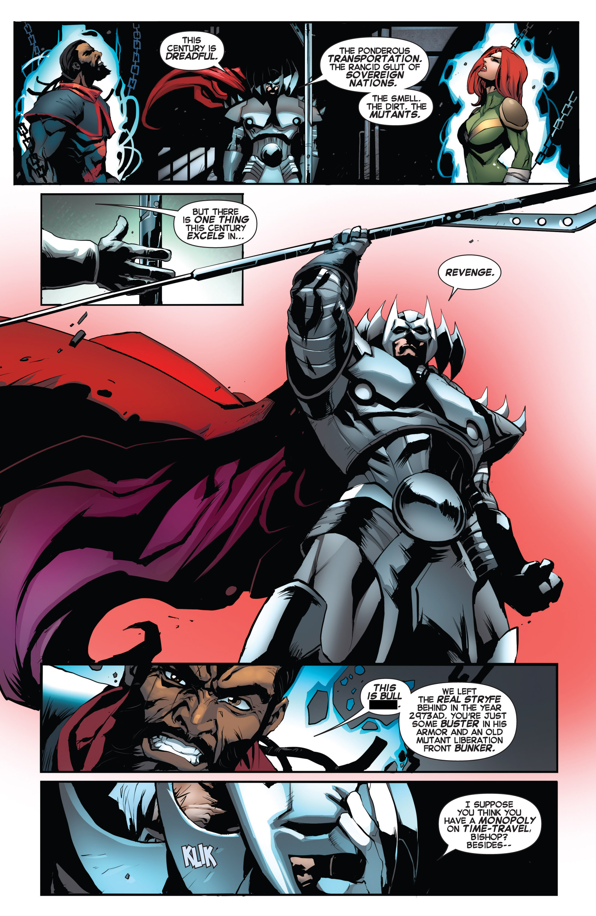 Read online Uncanny X-Force (2013) comic -  Issue #16 - 13