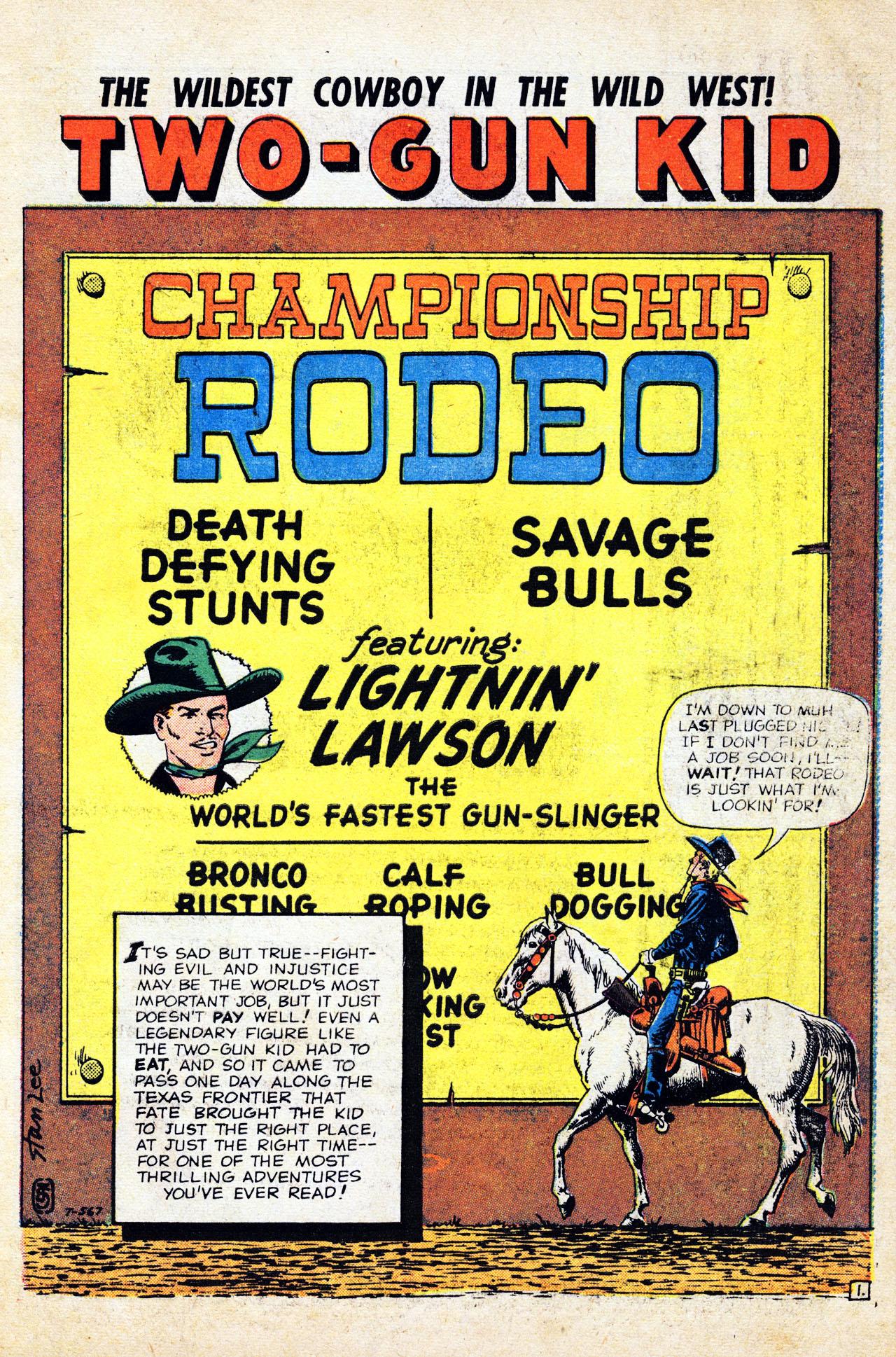 Read online Two-Gun Kid comic -  Issue #52 - 3