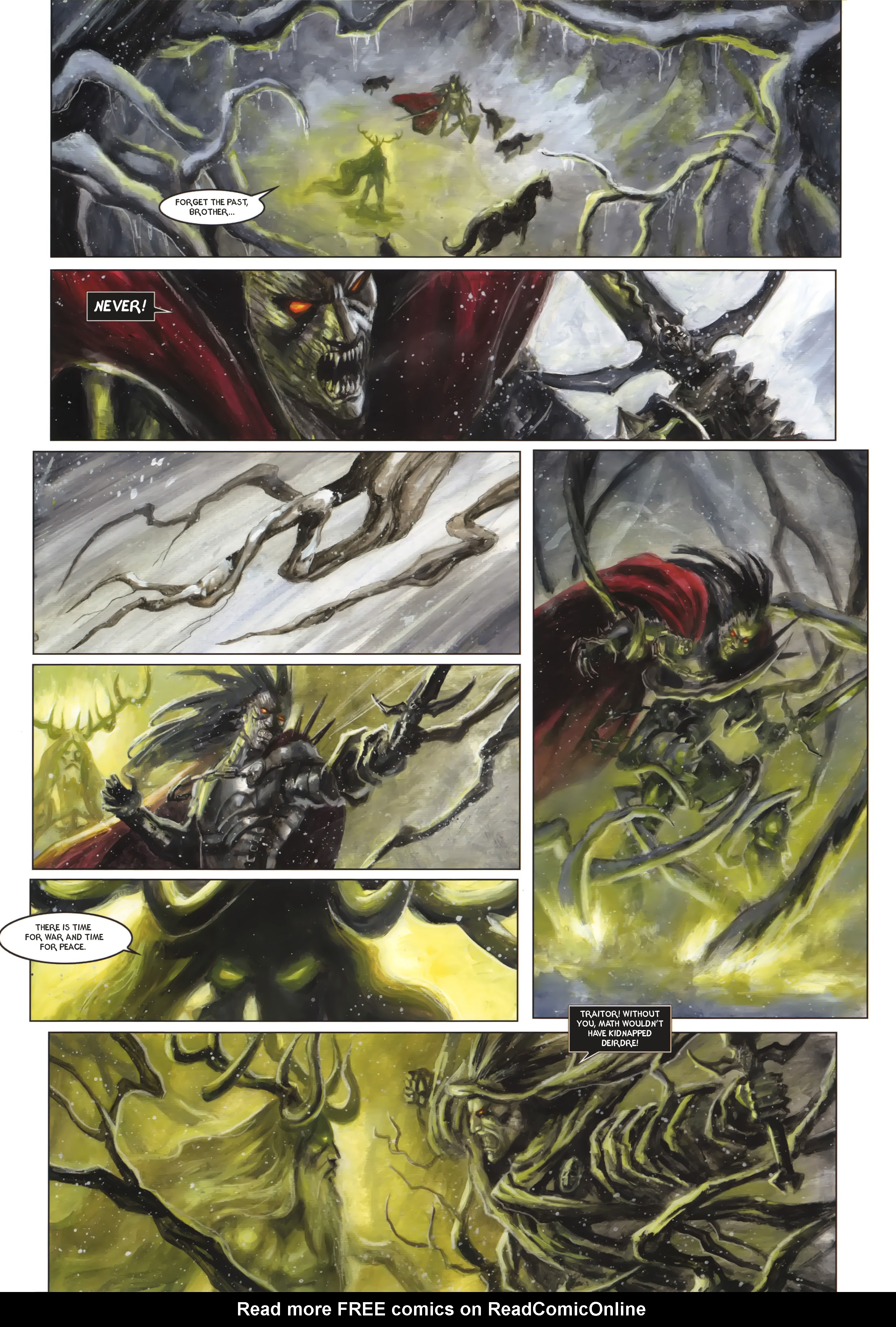 Read online Arawn comic -  Issue #6 - 51