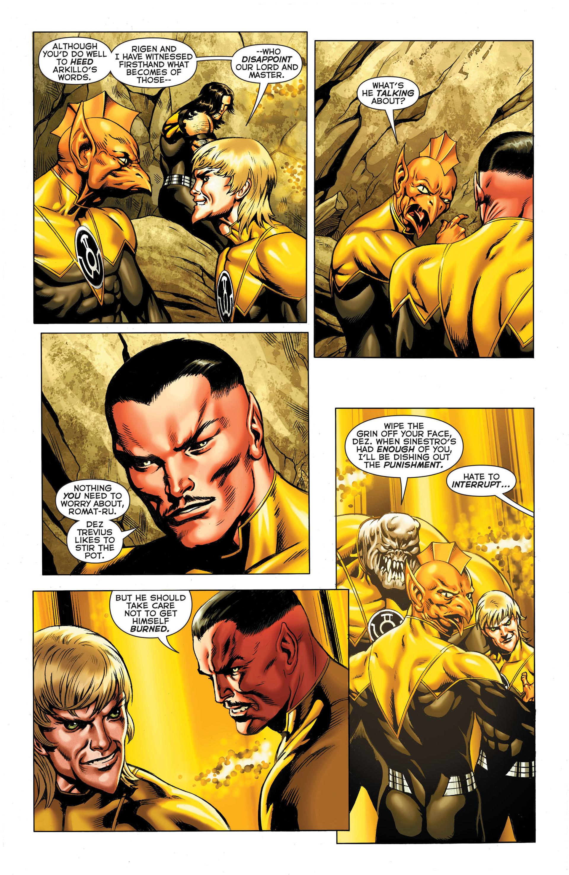 Read online Sinestro comic -  Issue #3 - 12