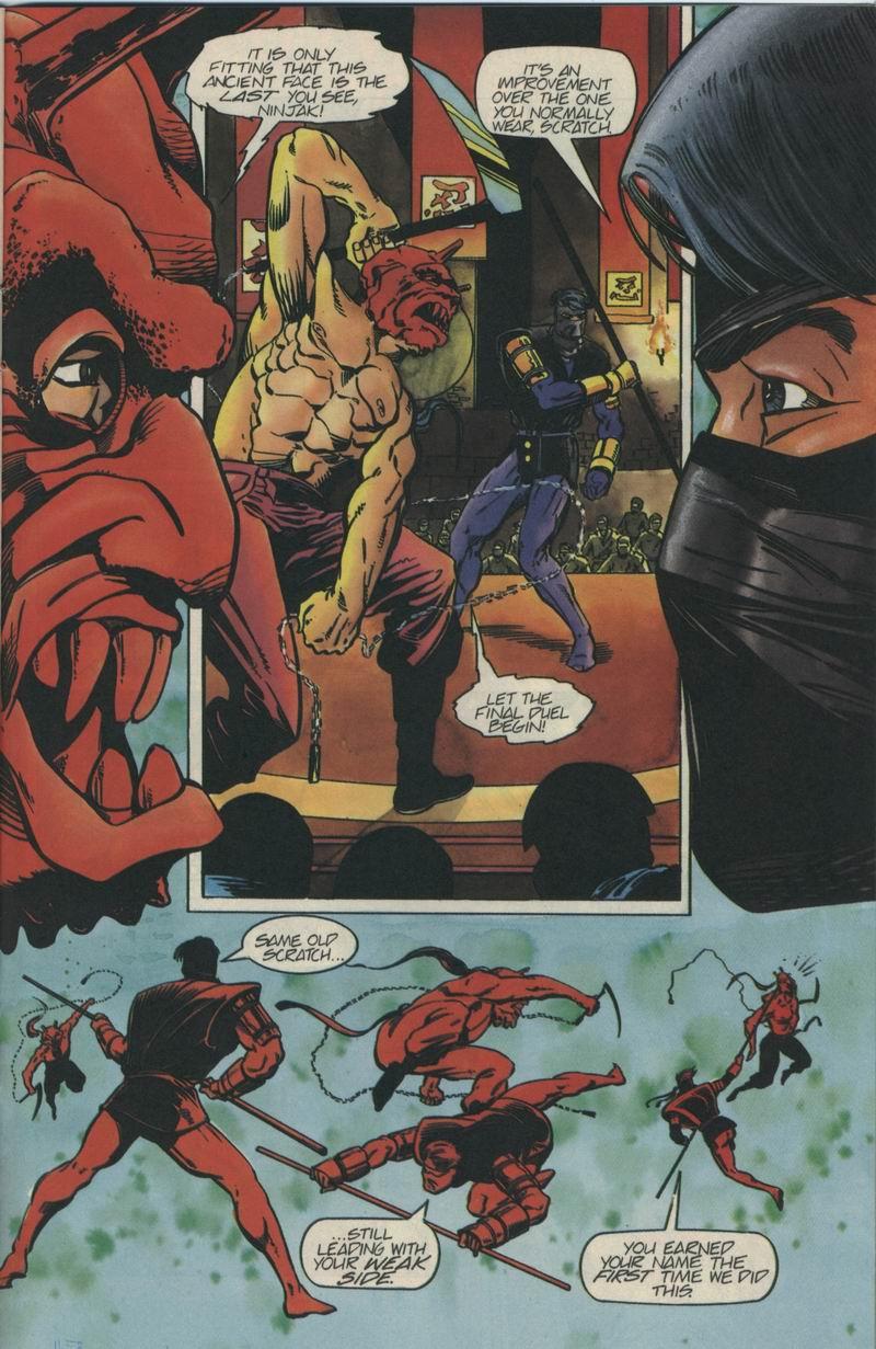 Read online Secret Weapons comic -  Issue #5 - 18