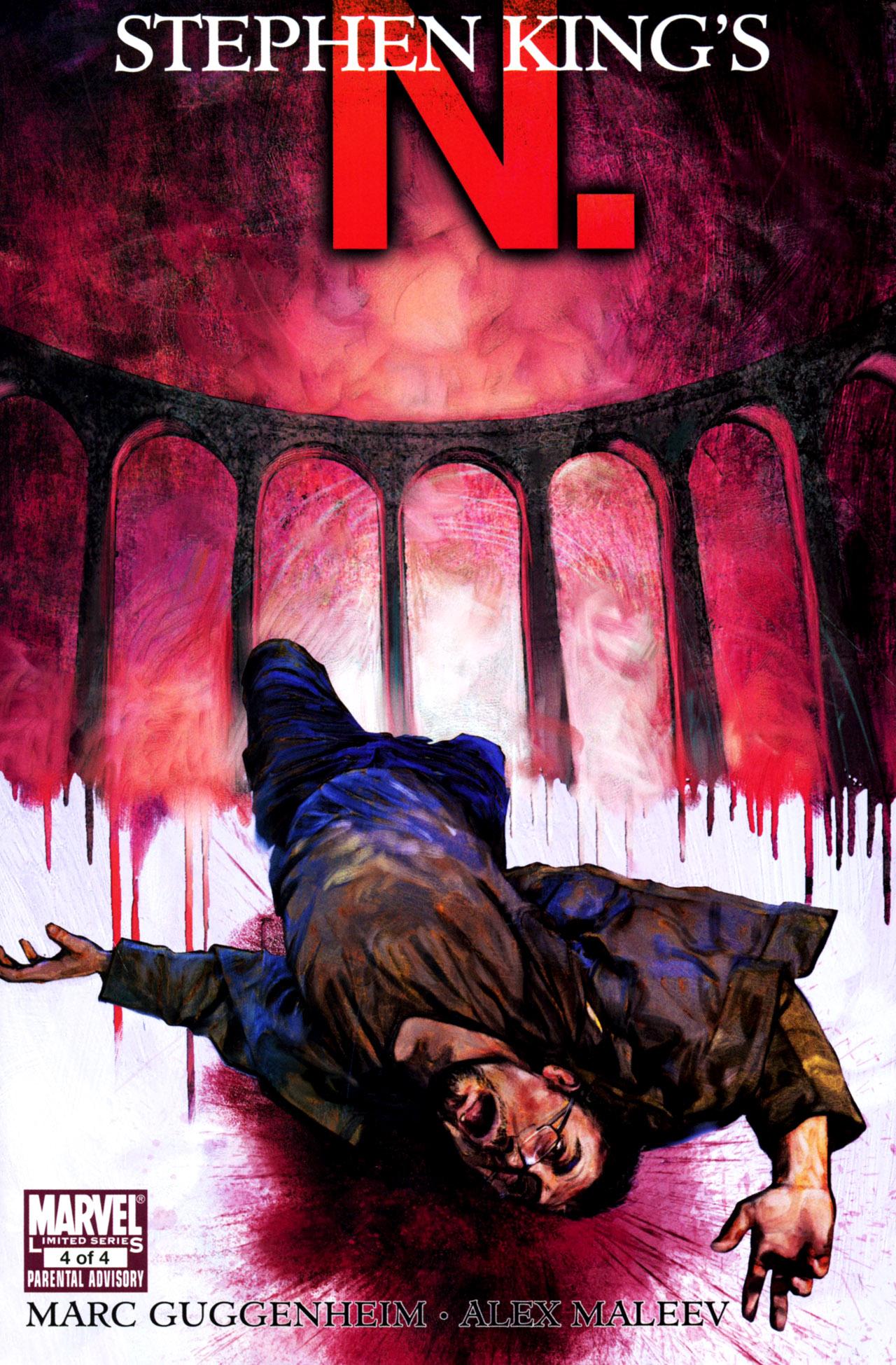 Read online Stephen King's N. comic -  Issue #4 - 1
