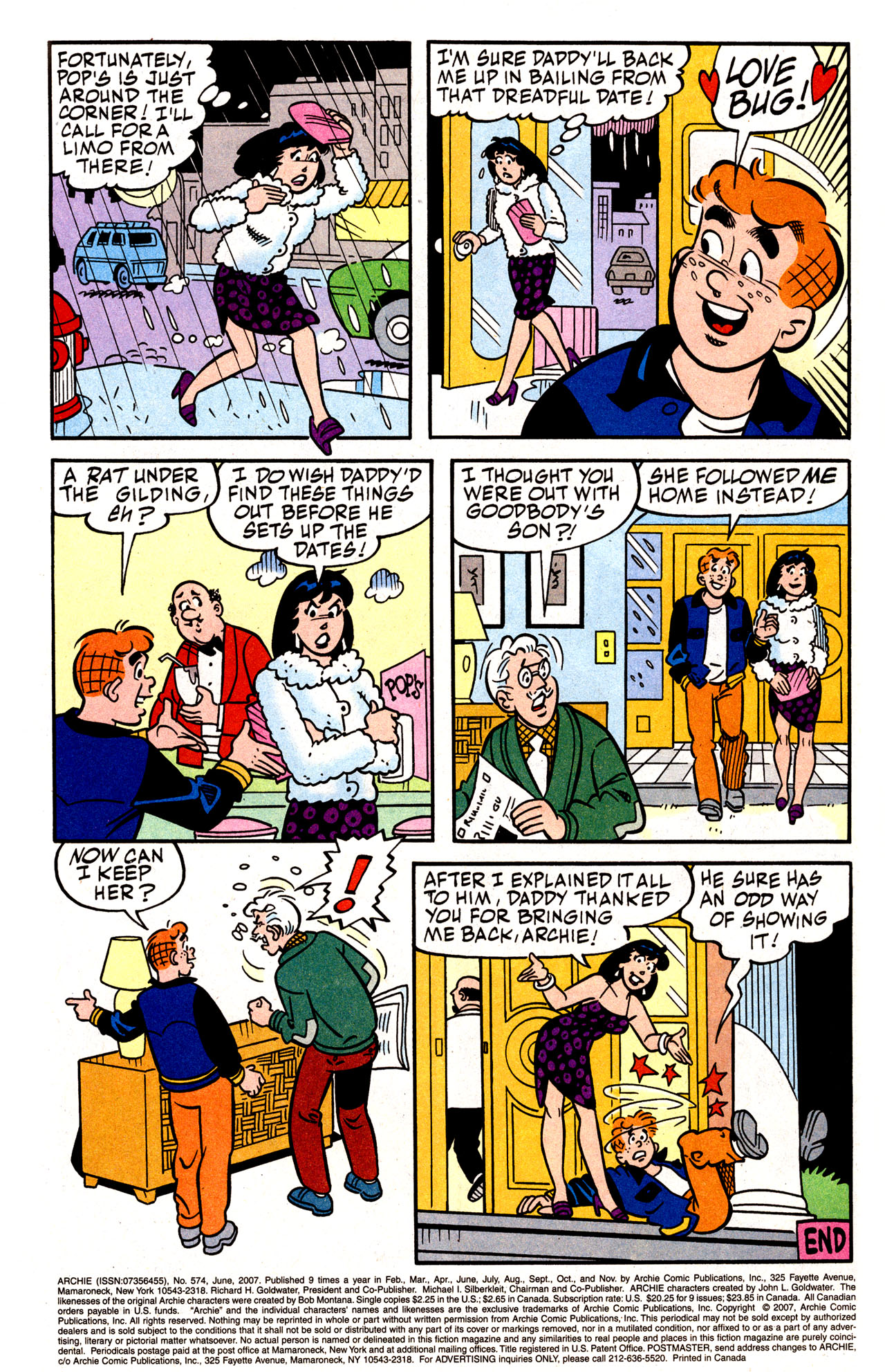 Read online Archie (1960) comic -  Issue #574 - 41