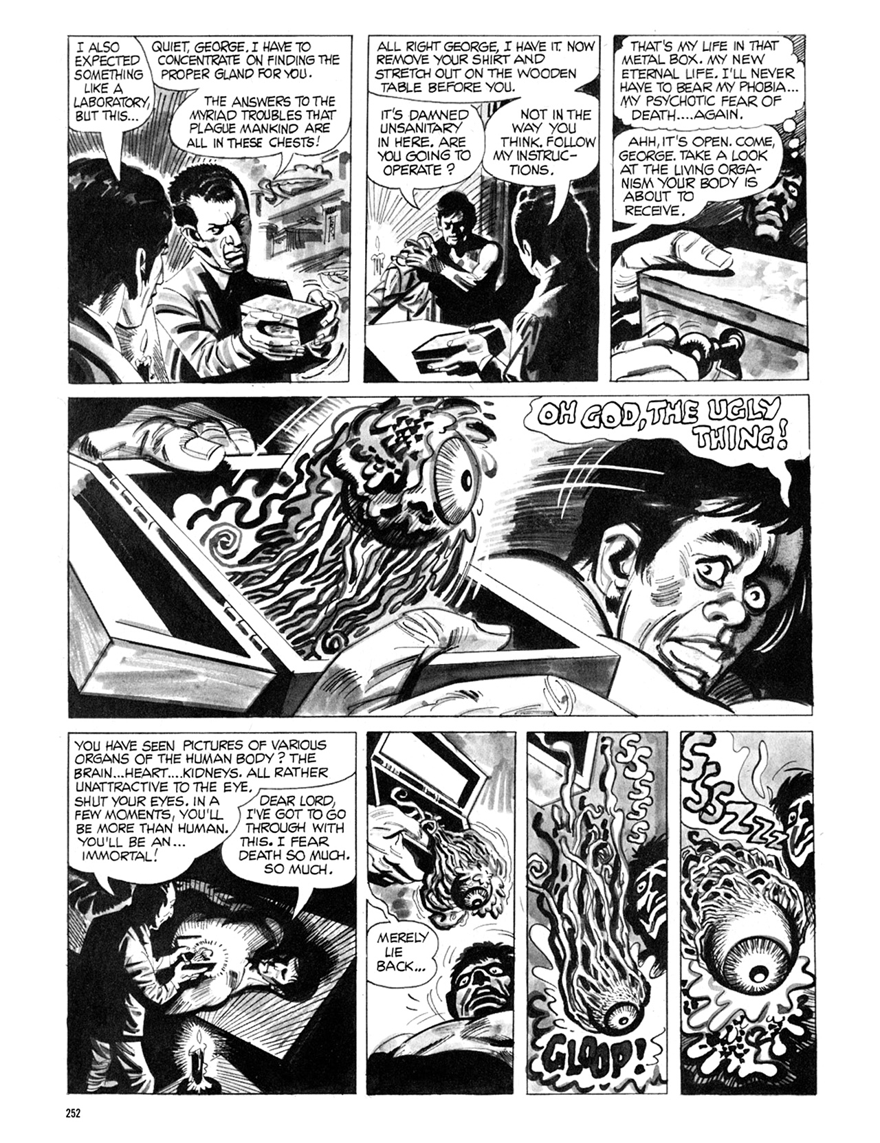 Read online Eerie Archives comic -  Issue # TPB 8 - 253