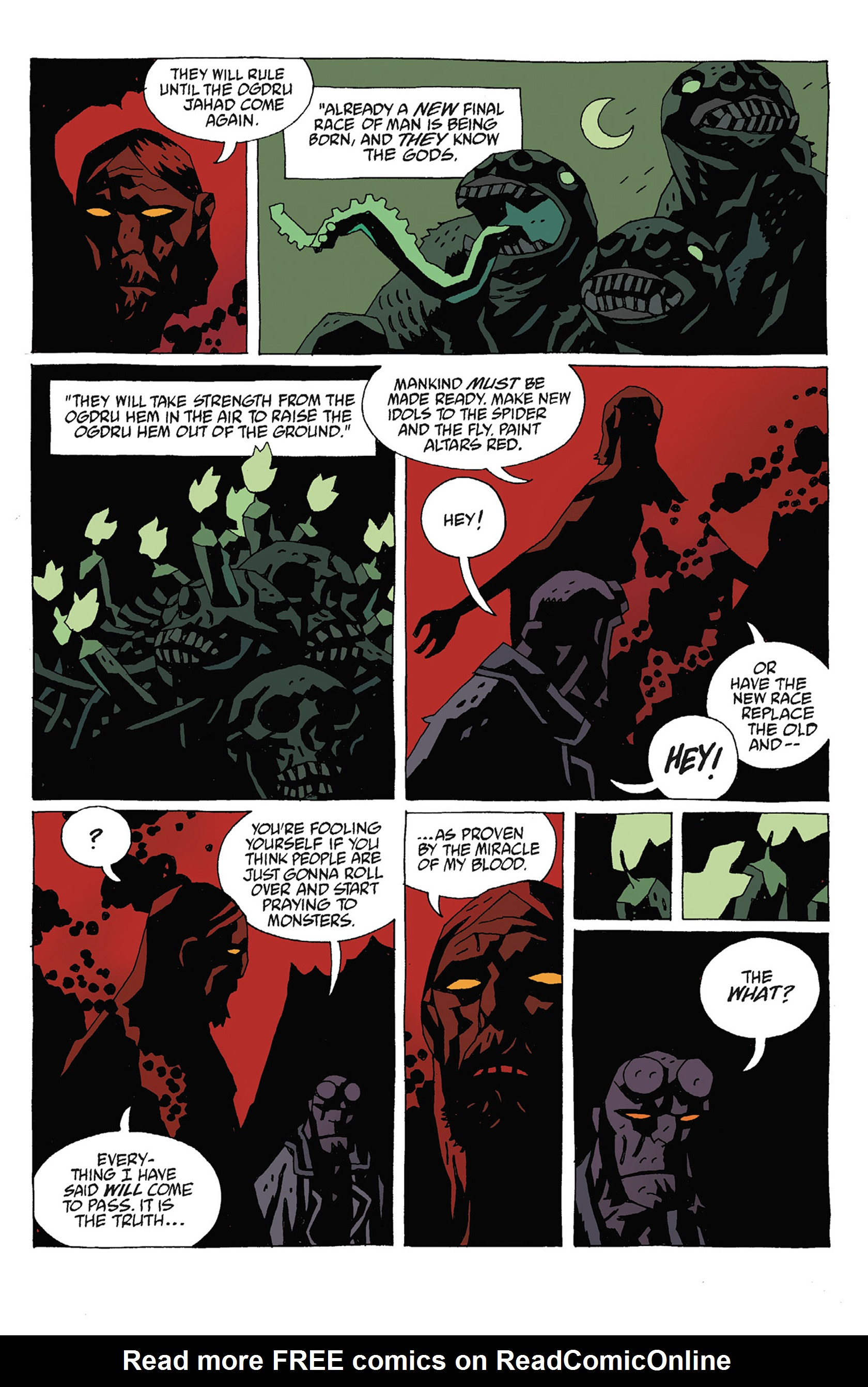 Read online Hellboy: Strange Places comic -  Issue # TPB - 113