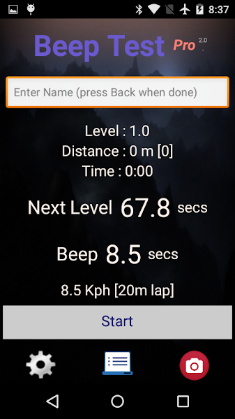 beep-test-pro-screenshot-1