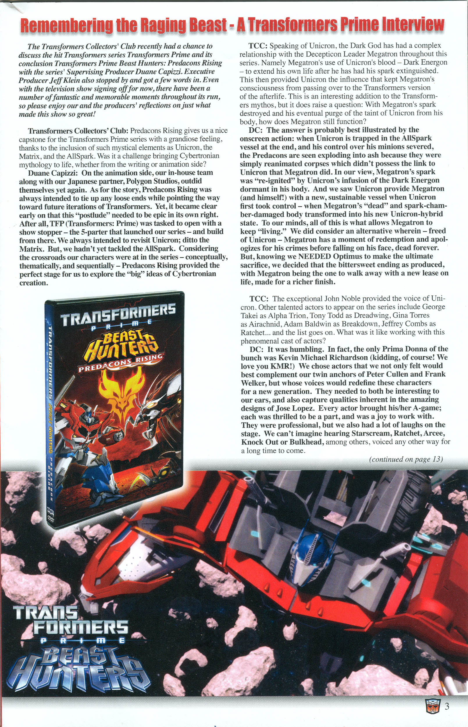 Read online Transformers: Collectors' Club comic -  Issue #54 - 3