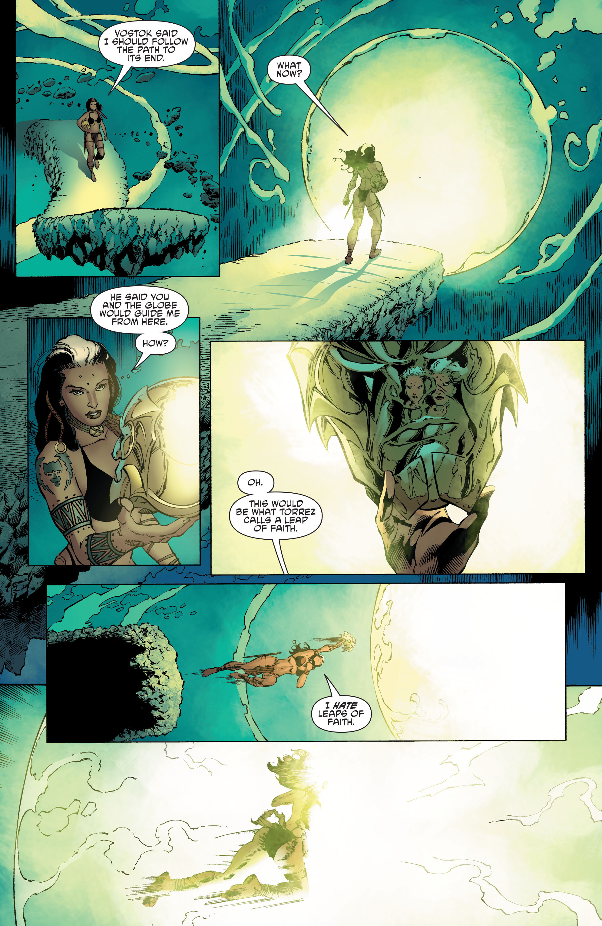 Read online Aquaman and the Others comic -  Issue #4 - 12