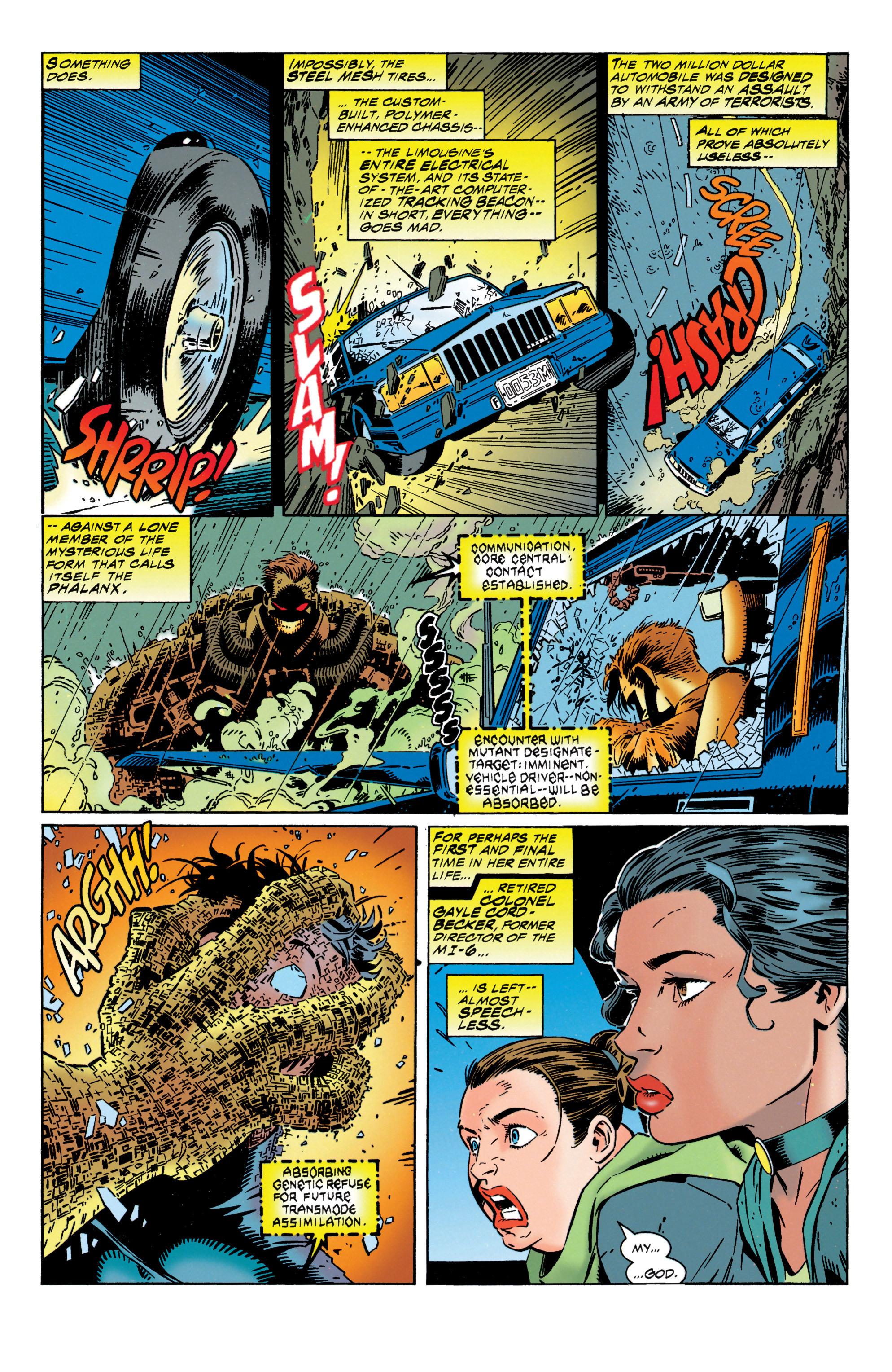 Read online Uncanny X-Men (1963) comic -  Issue #316 - 4
