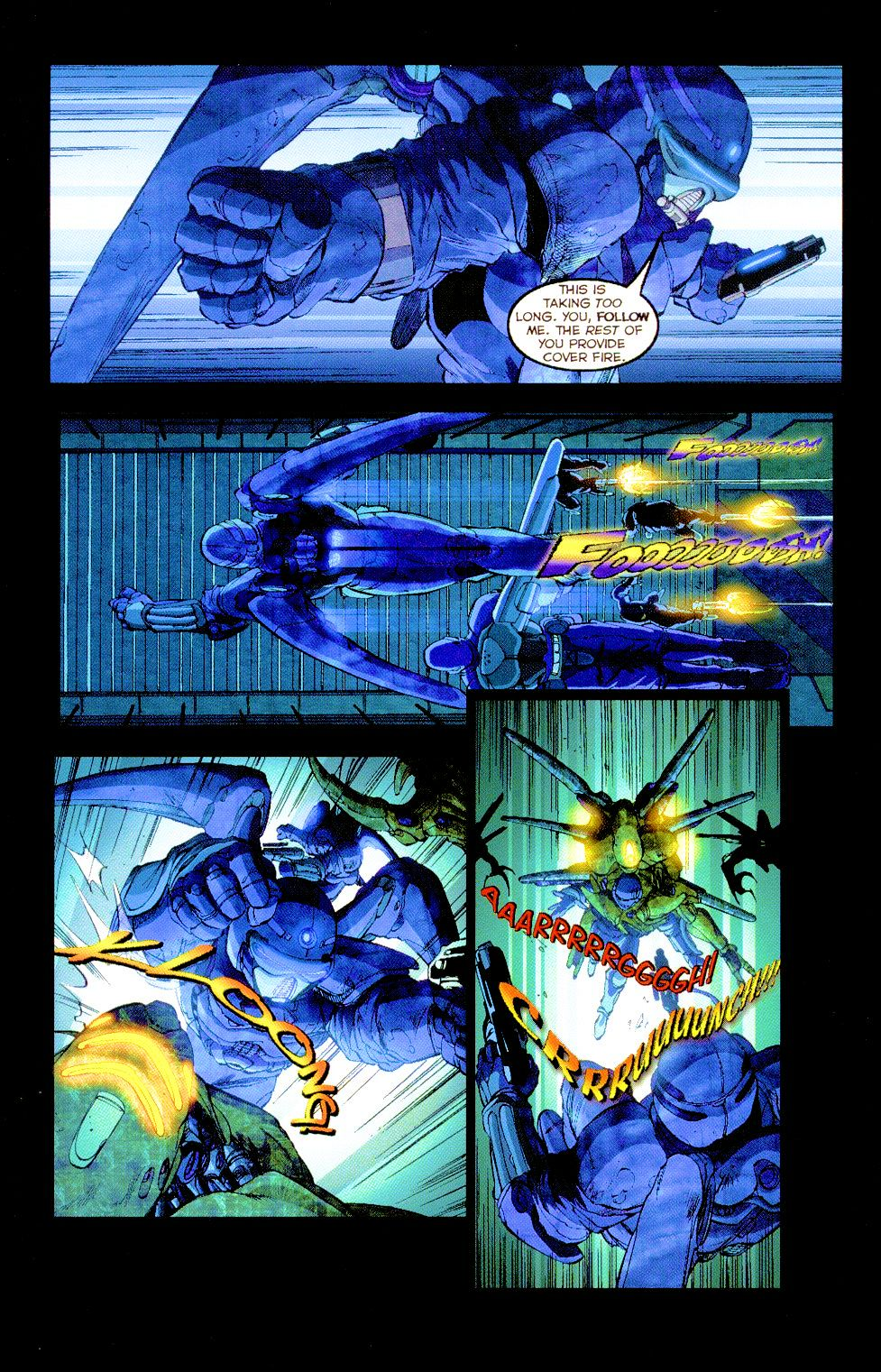 Darkminds (1998) Issue #8 #9 - English 4