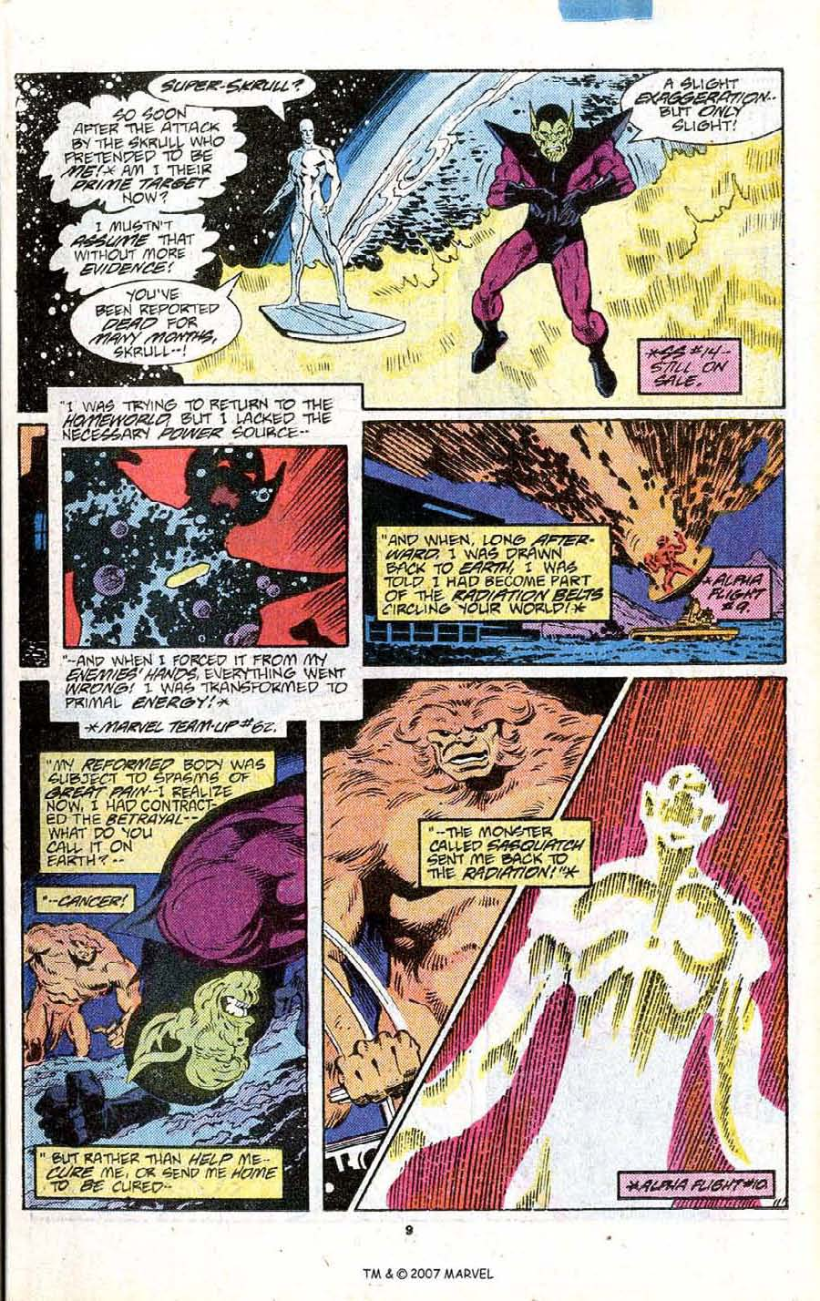 Read online Silver Surfer (1987) comic -  Issue # _Annual 1 - 11