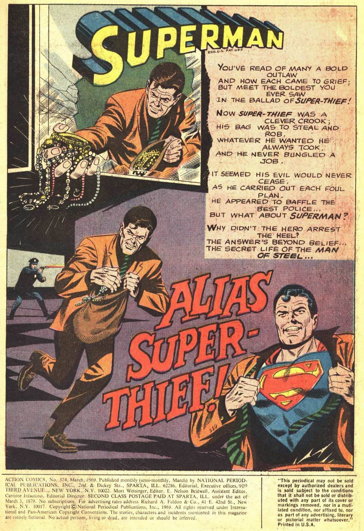 Read online Action Comics (1938) comic -  Issue #374 - 3