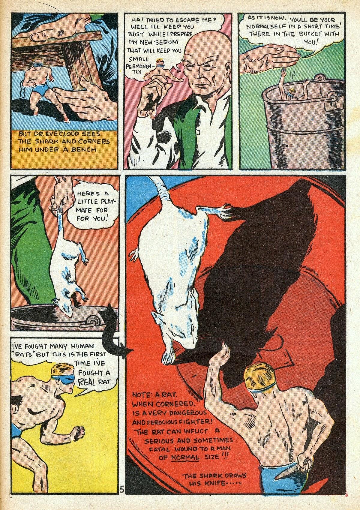 Read online Amazing Man Comics comic -  Issue #16 - 47