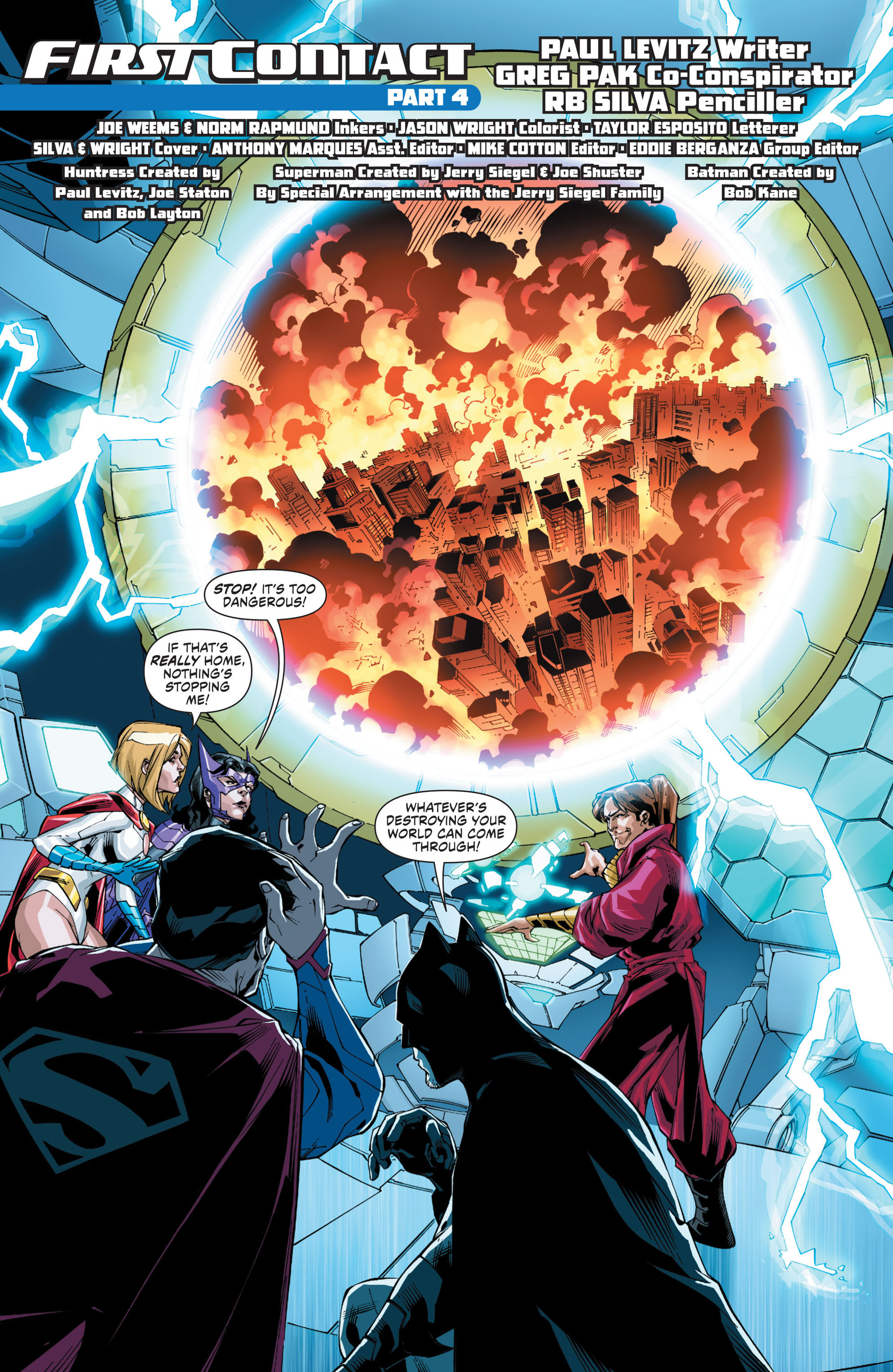 Read online Worlds' Finest comic -  Issue #21 - 2