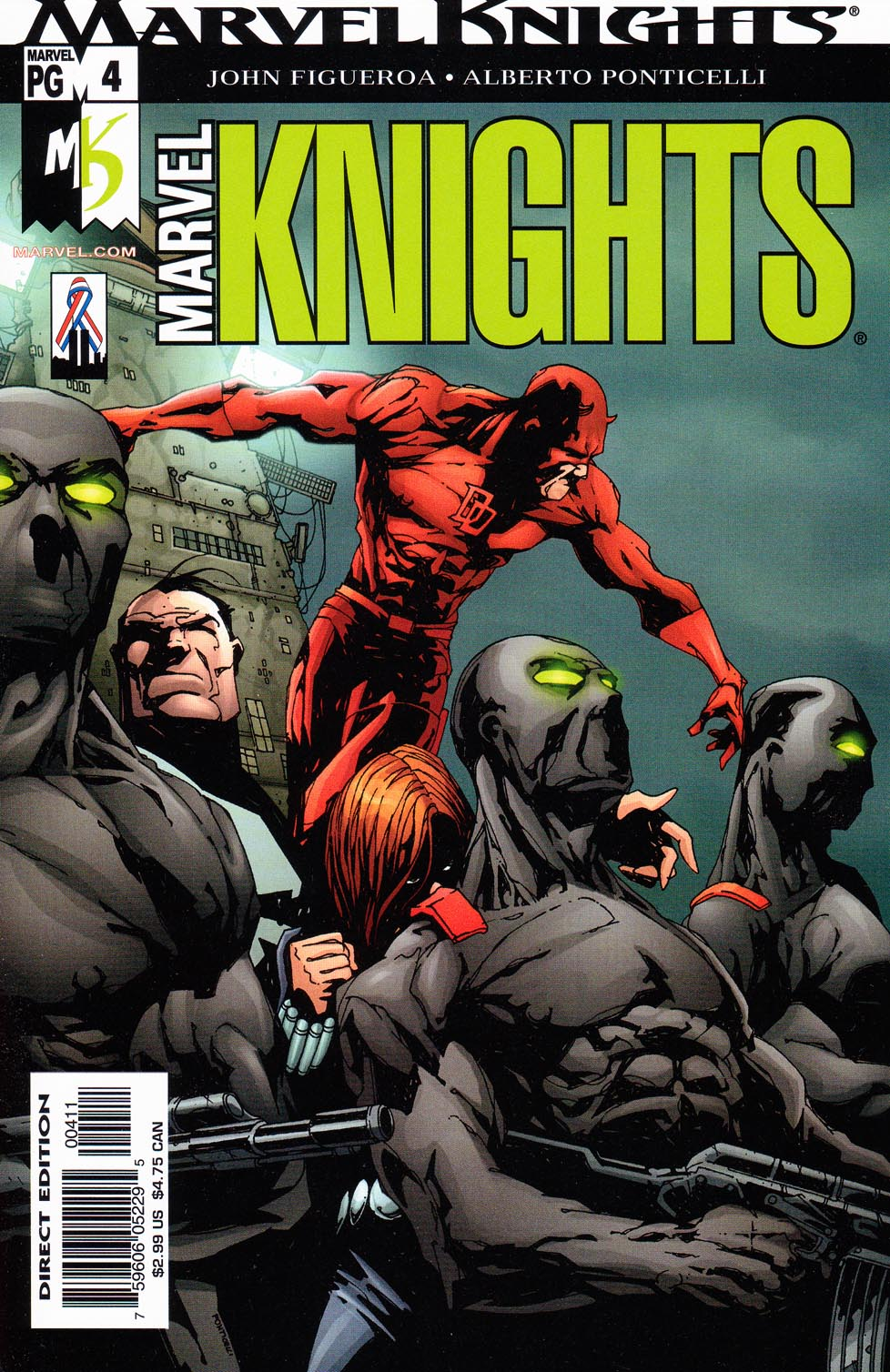 Marvel Knights (2002) 4 Page 1