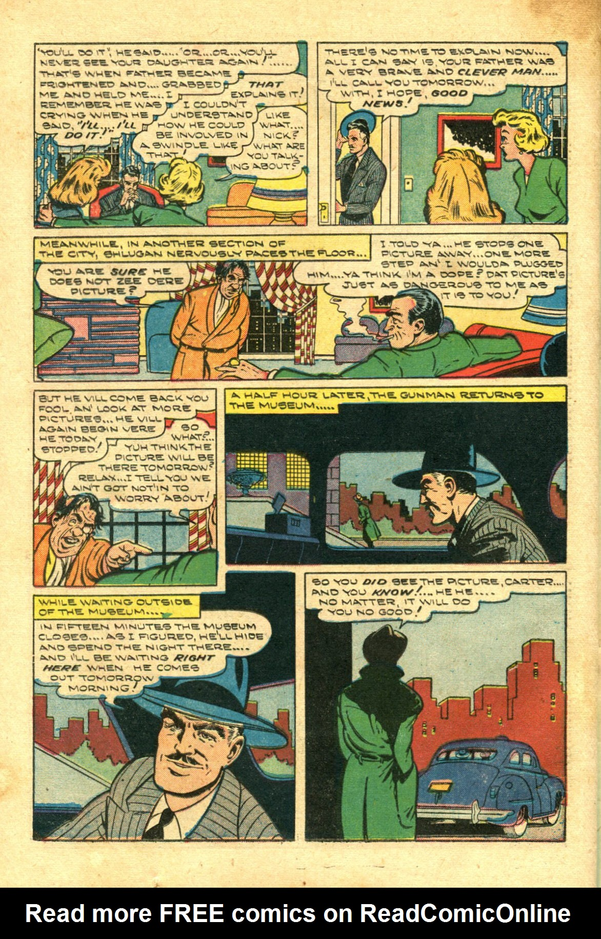 Read online Shadow Comics comic -  Issue #98 - 34