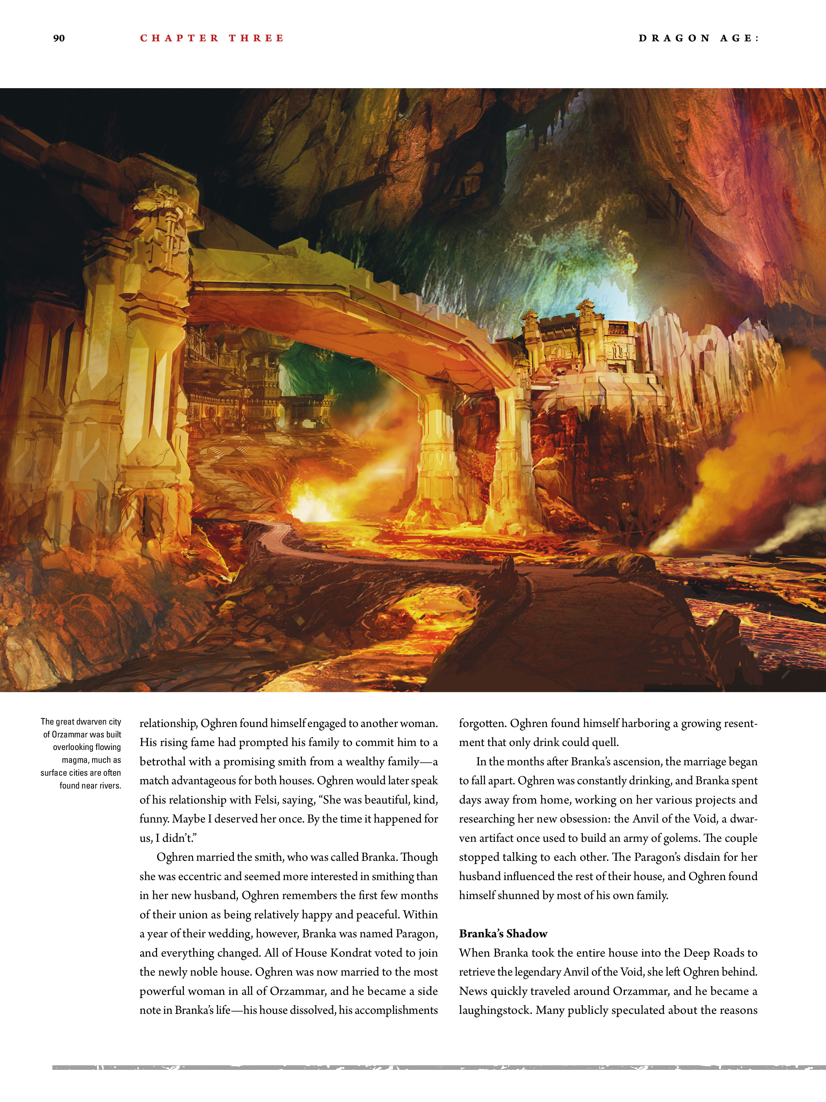 Read online Dragon Age: The World of Thedas comic -  Issue # TPB 2 - 86