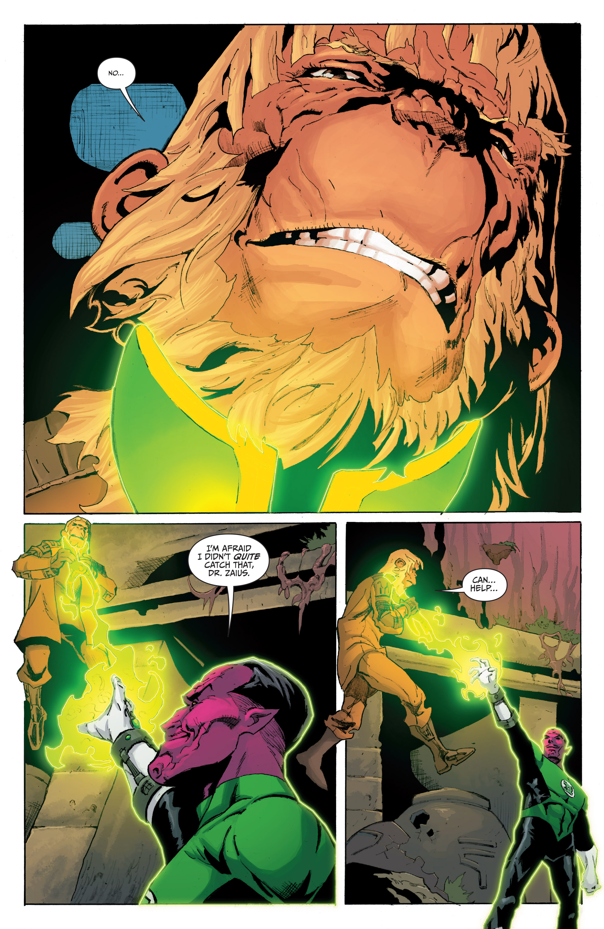 Planet of the Apes/Green Lantern 5 Page 3
