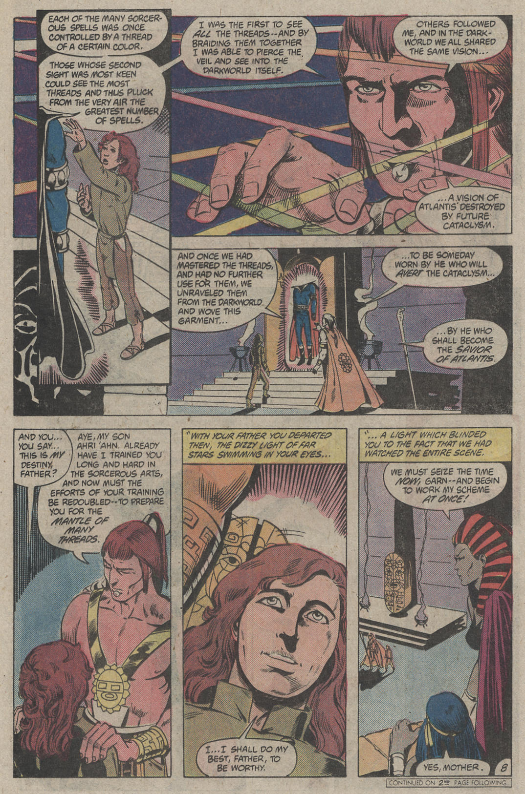 Read online Arion, Lord of Atlantis comic -  Issue #4 - 8