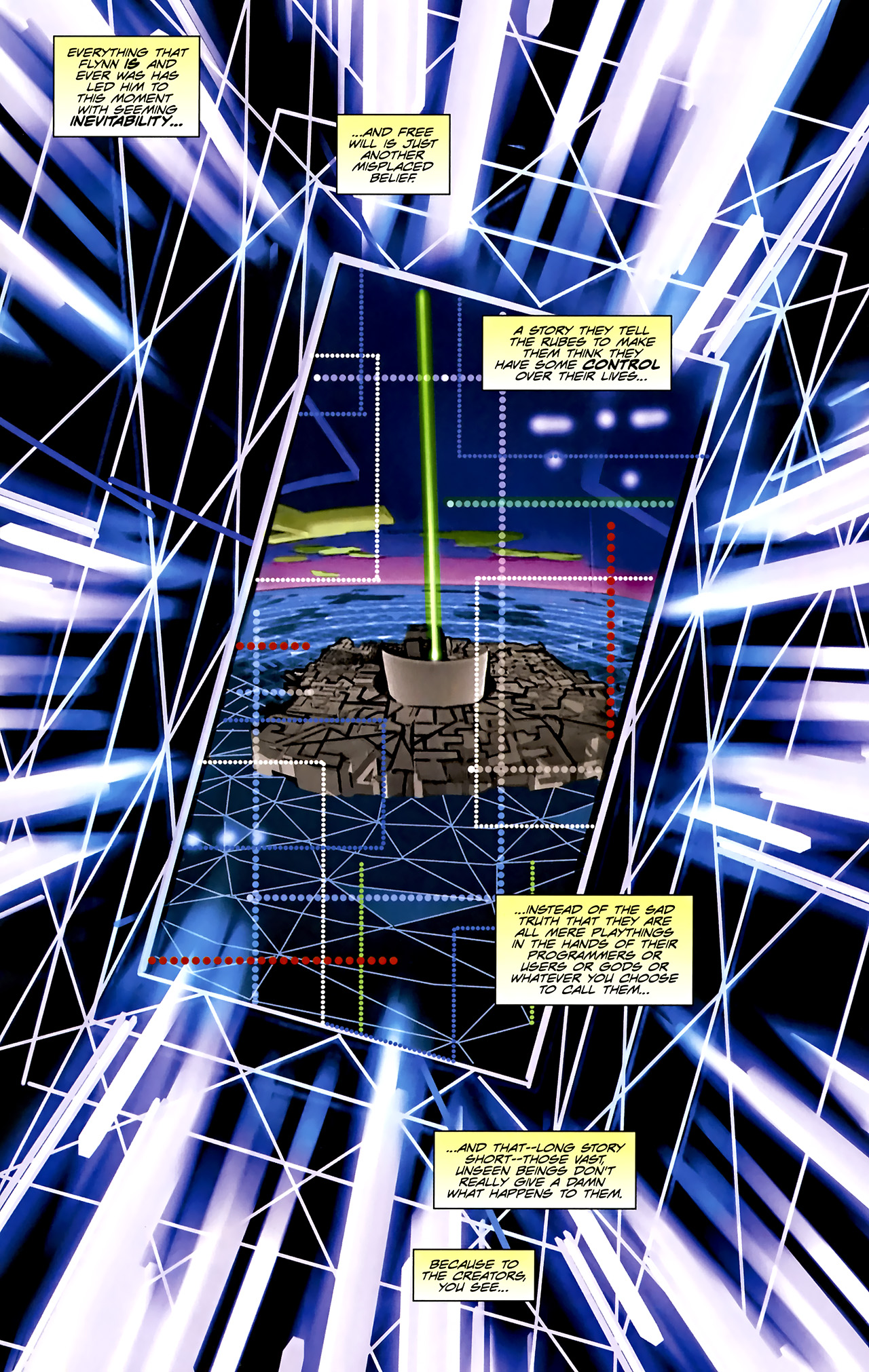Read online TRON: Original Movie Adaptation comic -  Issue #1 - 29