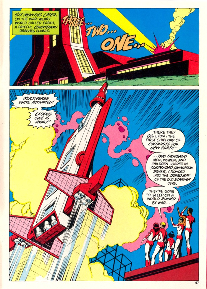 Read online Atari Force (1982) comic -  Issue #5 - 45