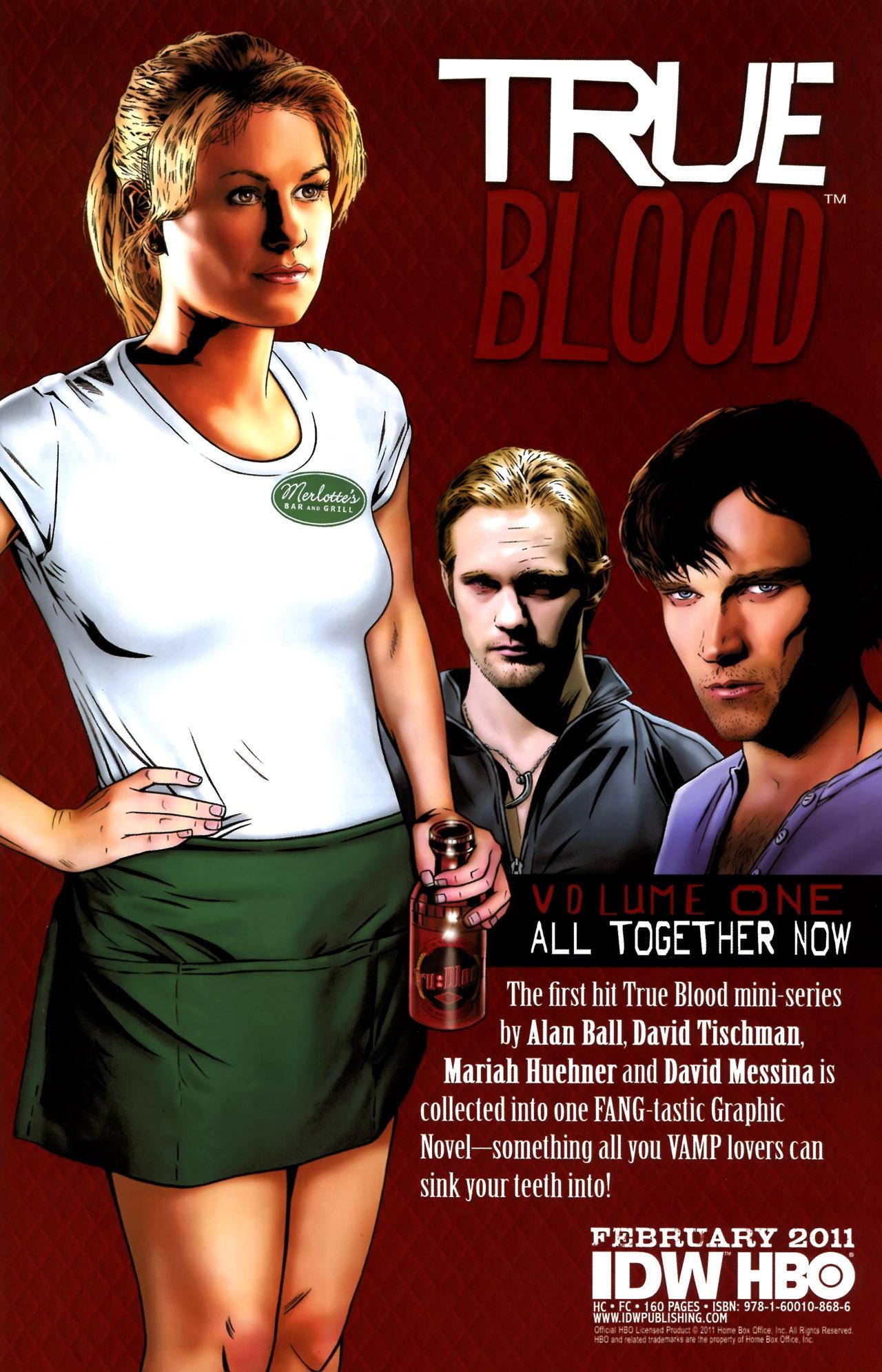 Read online True Blood (2010) comic -  Issue #6 - 25