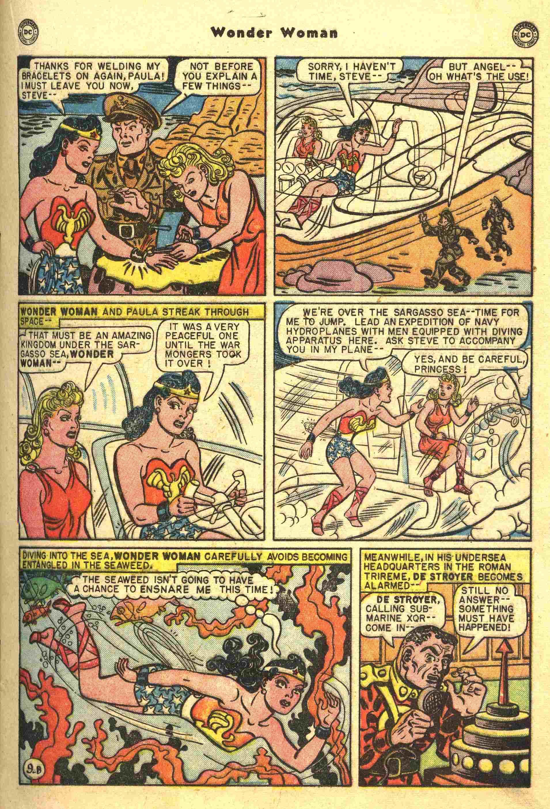 Read online Wonder Woman (1942) comic -  Issue #44 - 22