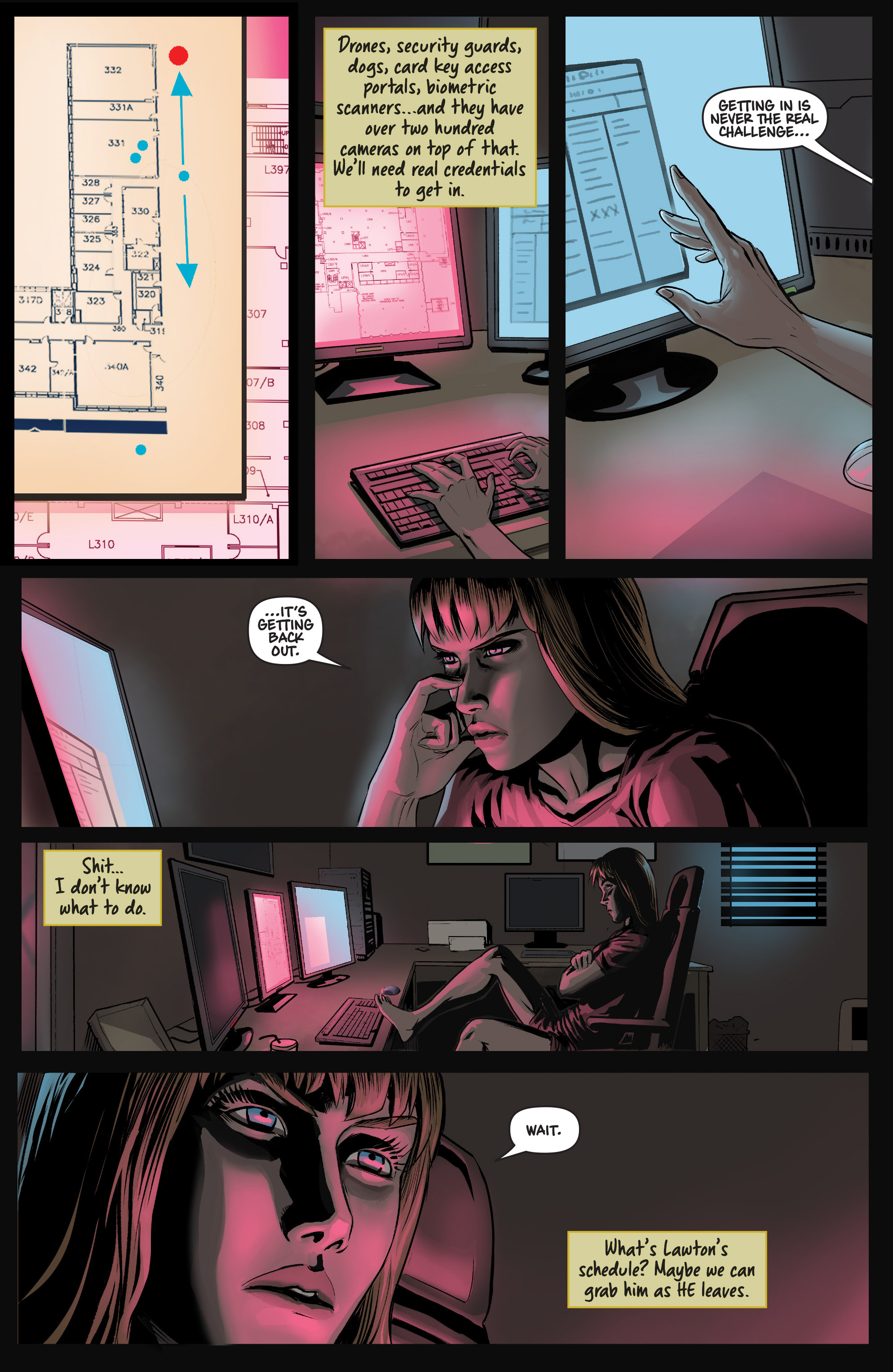 Read online Samaritan: Vertias comic -  Issue #1 - 22
