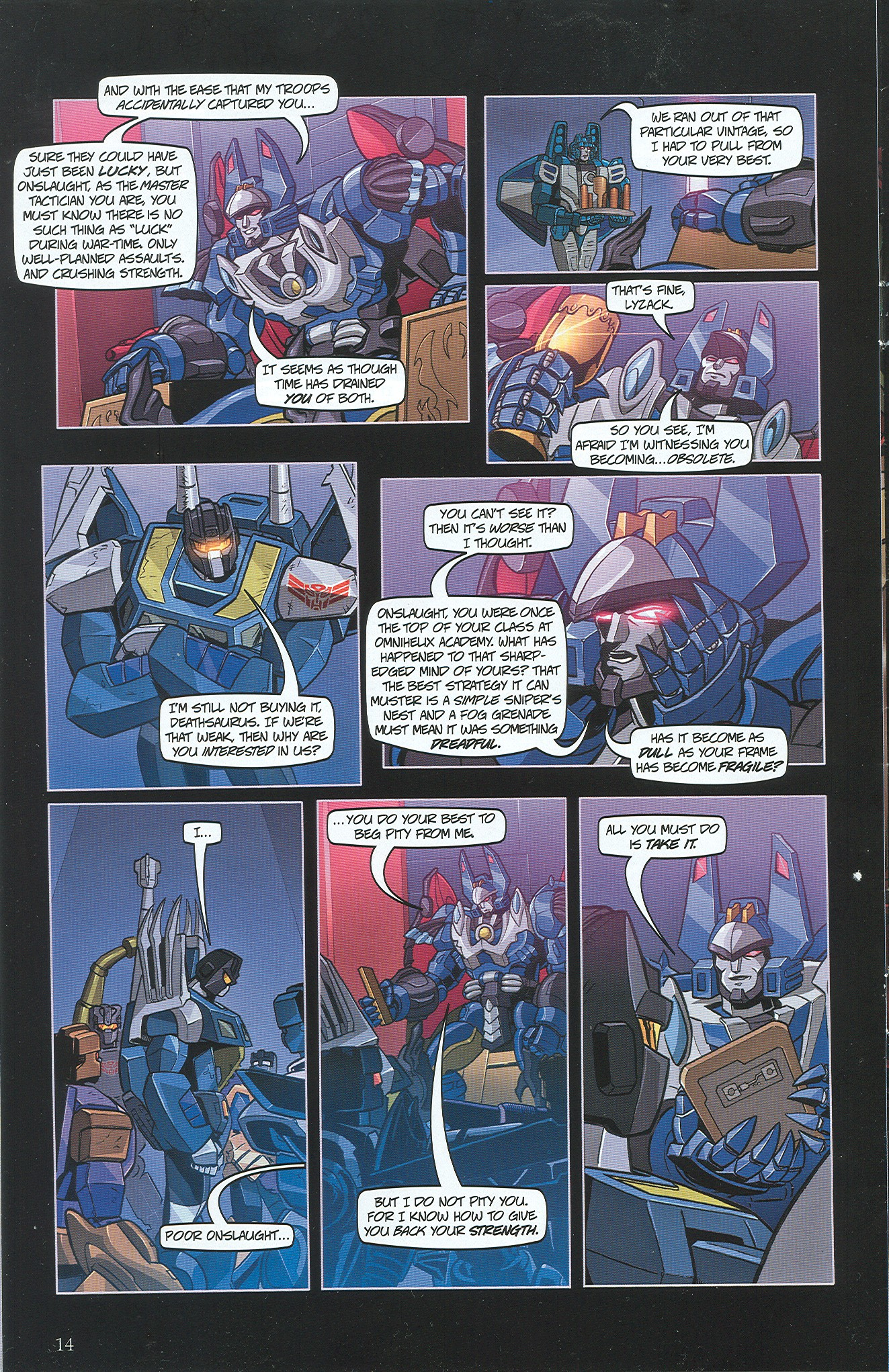 Read online Transformers: Collectors' Club comic -  Issue #34 - 14
