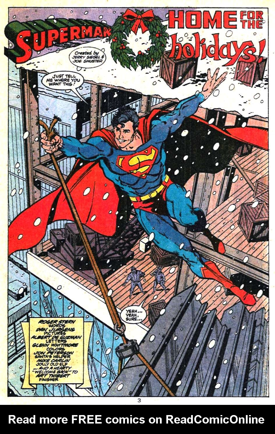 Read online Adventures of Superman (1987) comic -  Issue #462 - 4
